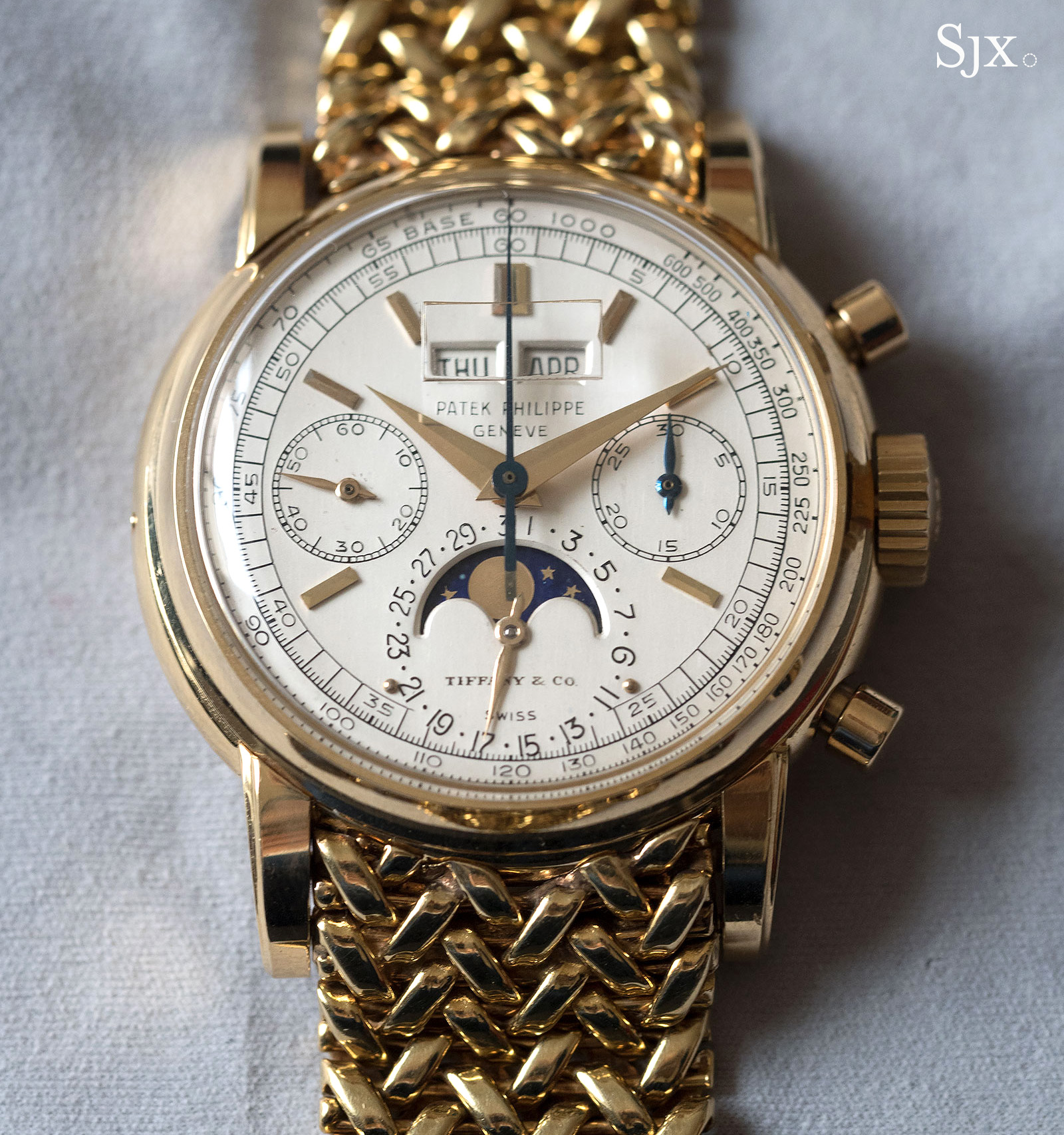 Patek Philppe 2499 Tiffany dial 1
