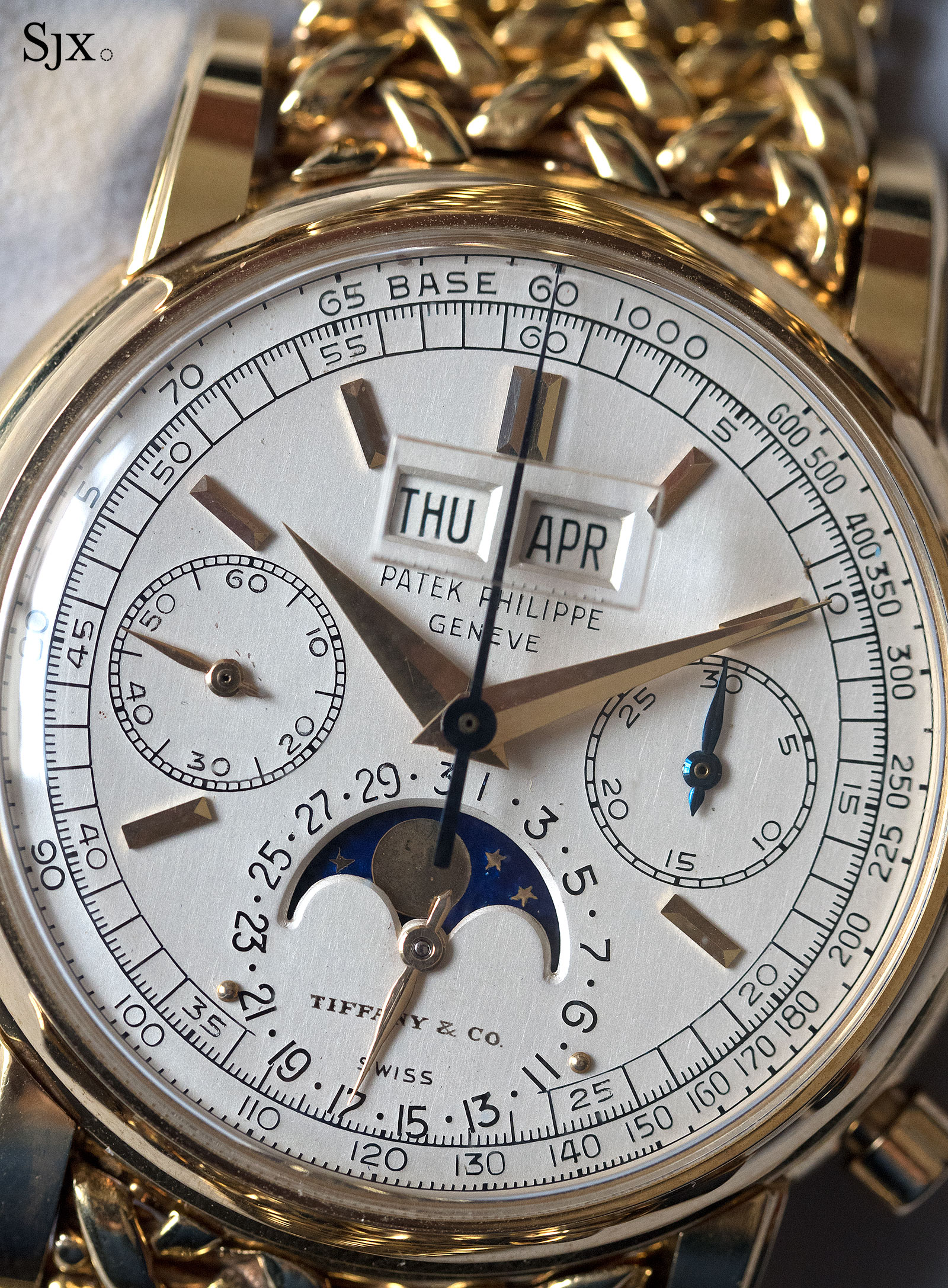 Patek Philppe 2499 Tiffany dial 3