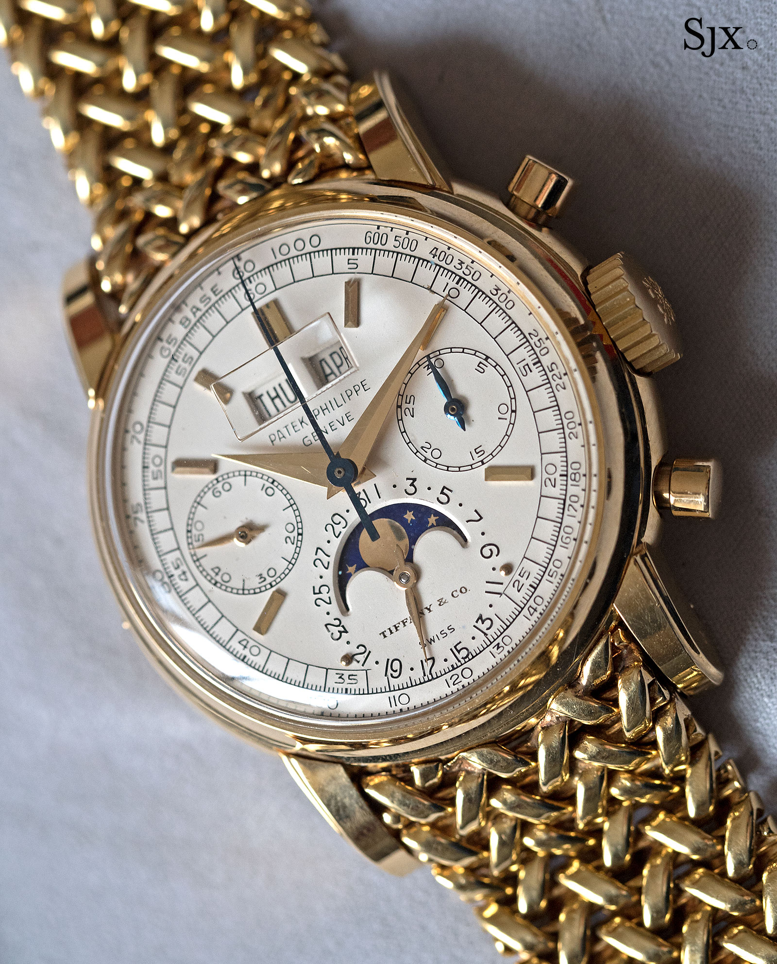 Patek Philppe 2499 Tiffany dial 6