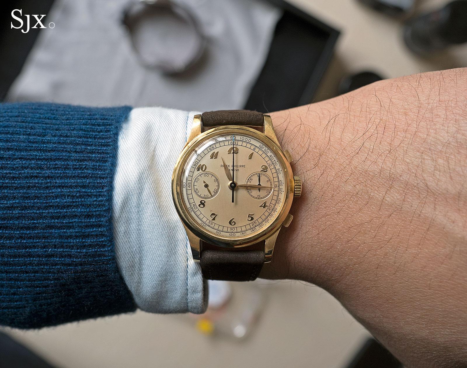 Patek Philppe 530 chronograph 8