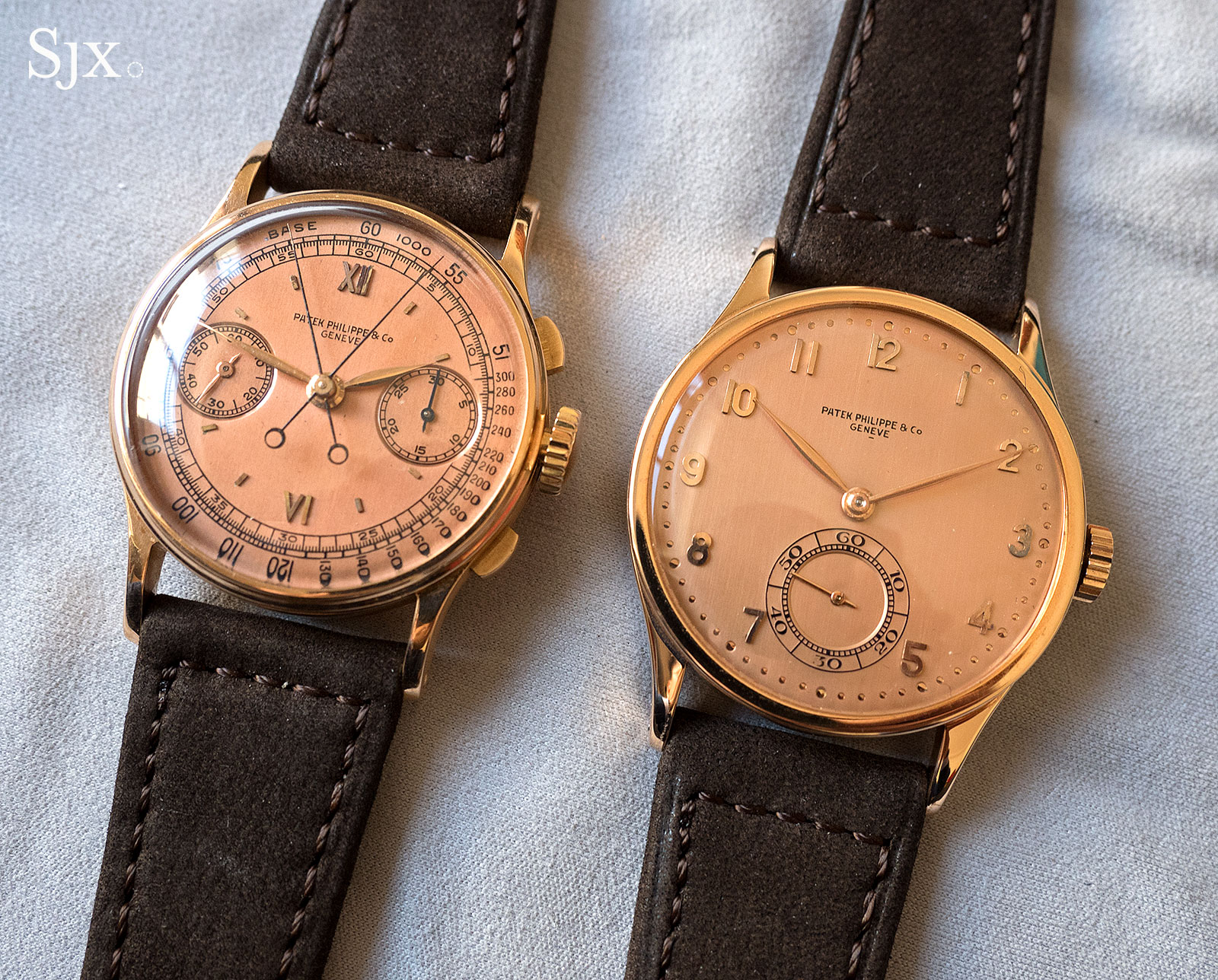 Patek Philppe 570 and 1436 pink on pink 2