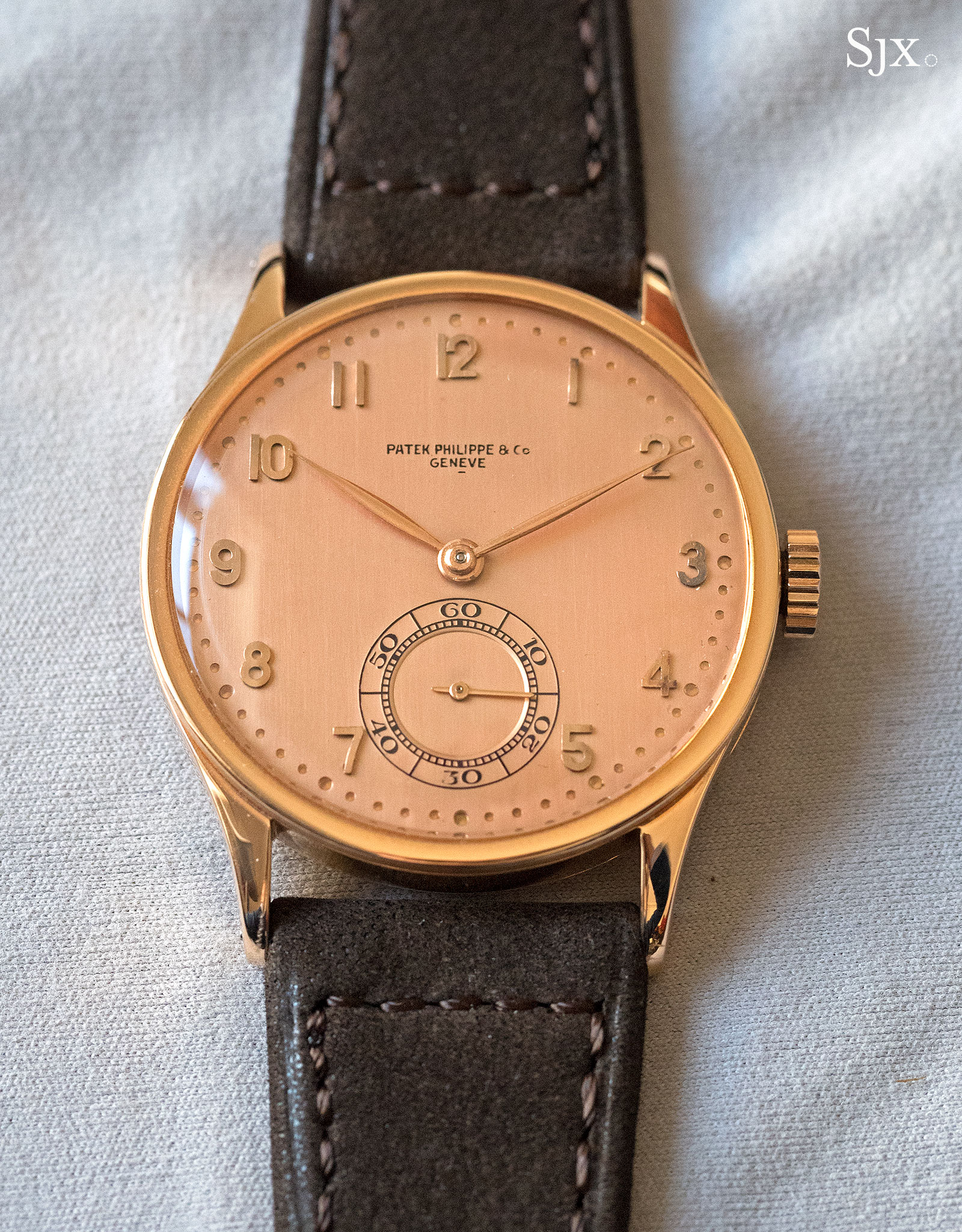 Patek Philppe Calatrava 570 pink on pink 1