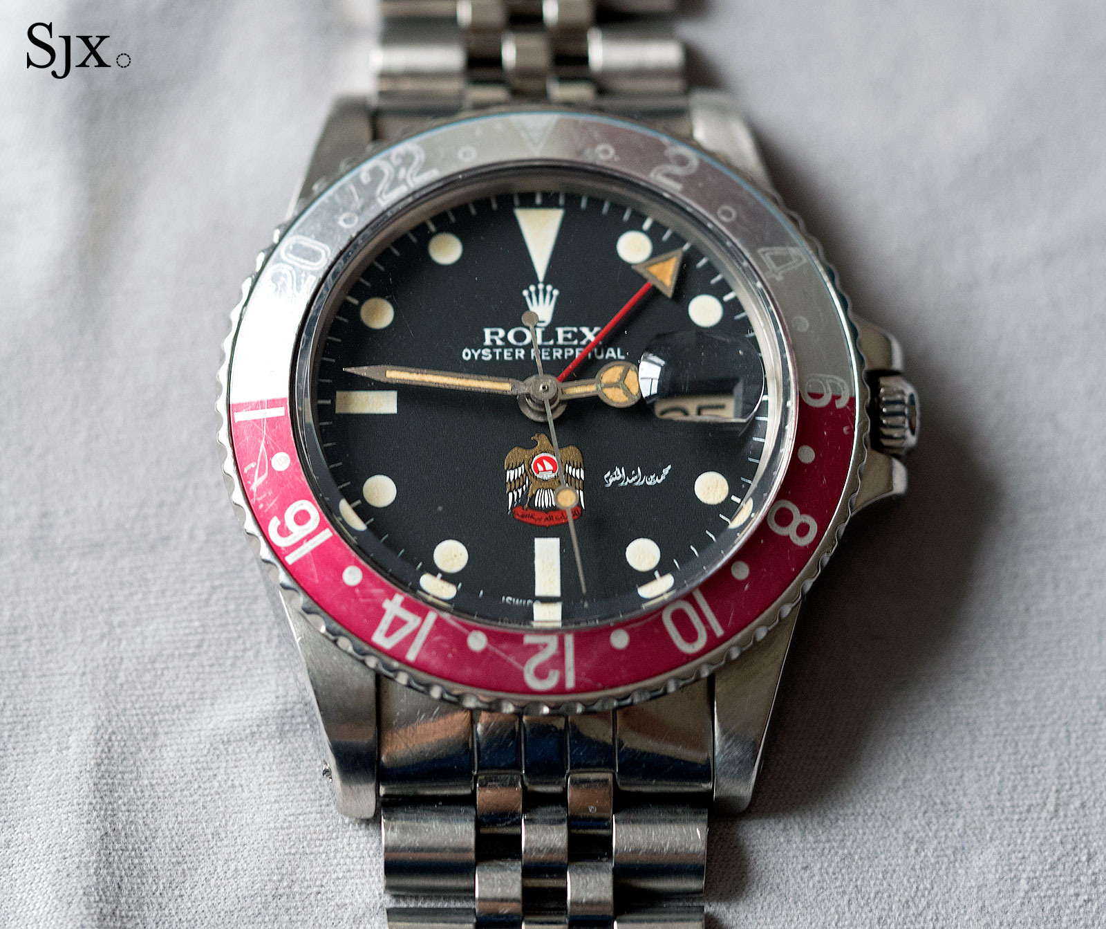 Rolex GMT-Master UAE Hawk 1