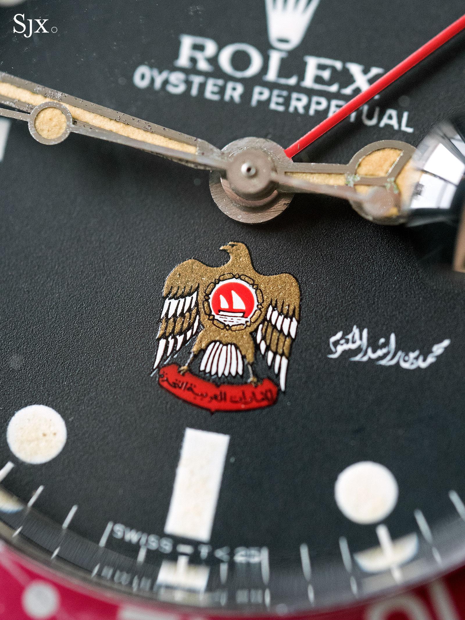 Rolex GMT-Master UAE Hawk 2