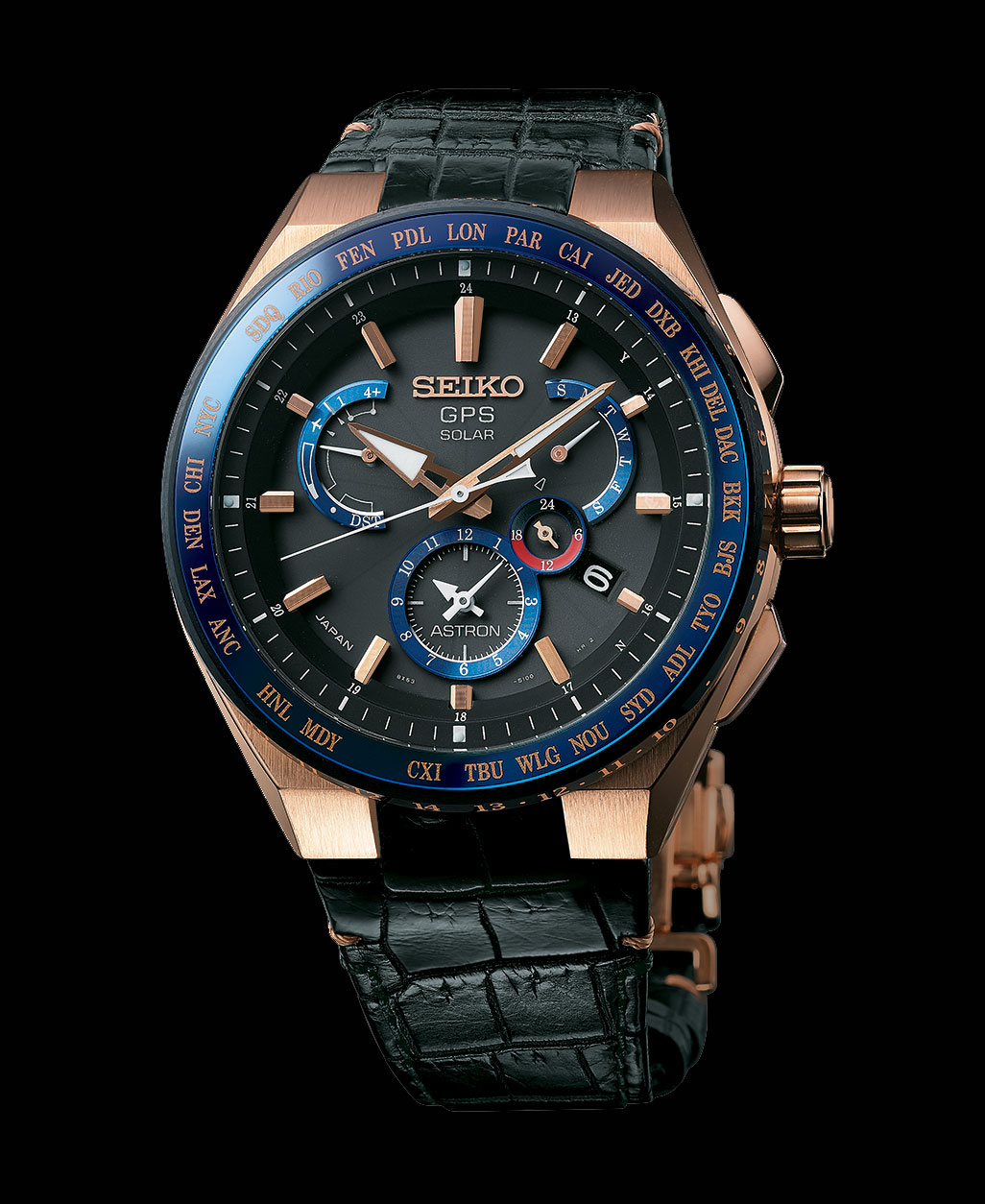 Seiko Astron 5th Anniversary 18k pink gold 3