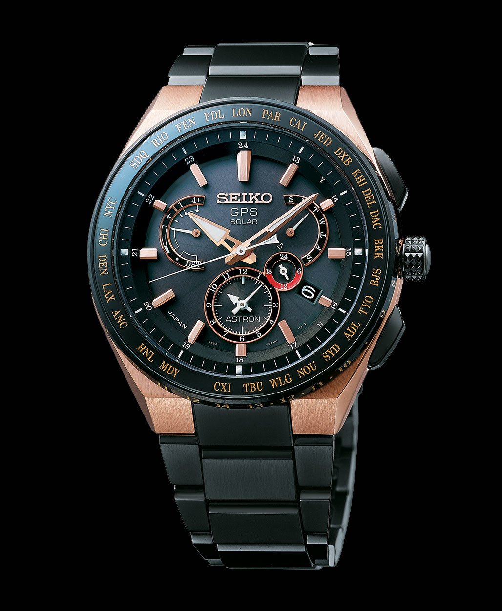 Seiko Astron Executive 8X series rose gold