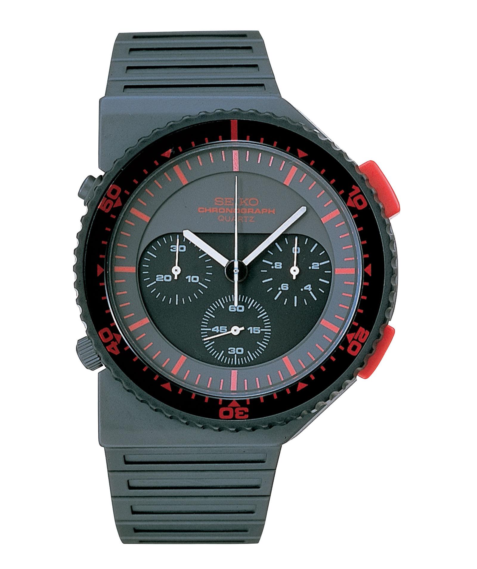 watch alarm solar pvd product pilot watches seiko chronograph black