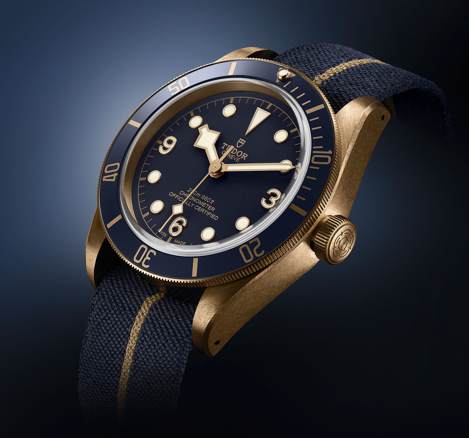 Tudor Black Bay Bronze Blue Bucherer 1