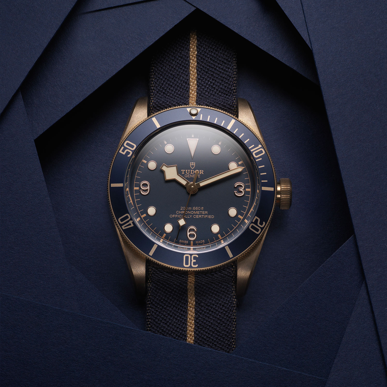Tudor Black Bay Bronze Blue Bucherer 3