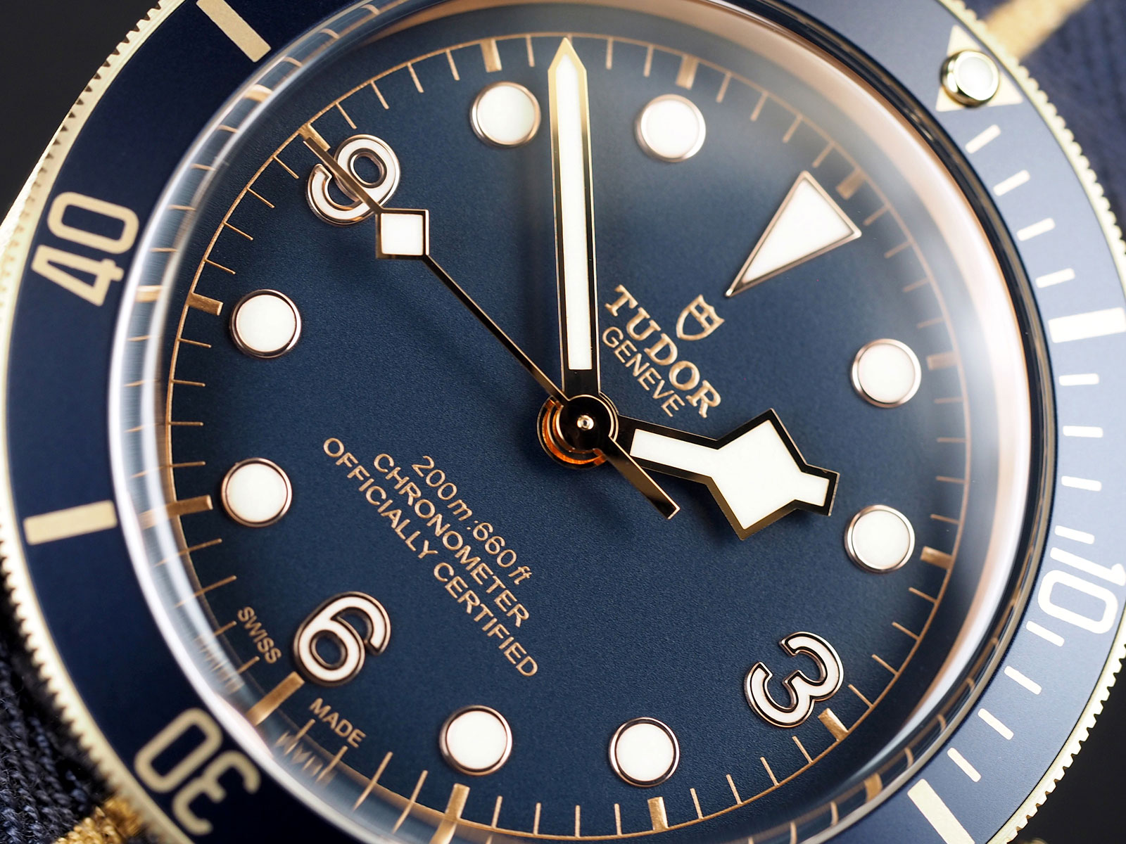 Tudor Black Bay Bronze Blue Bucherer 4