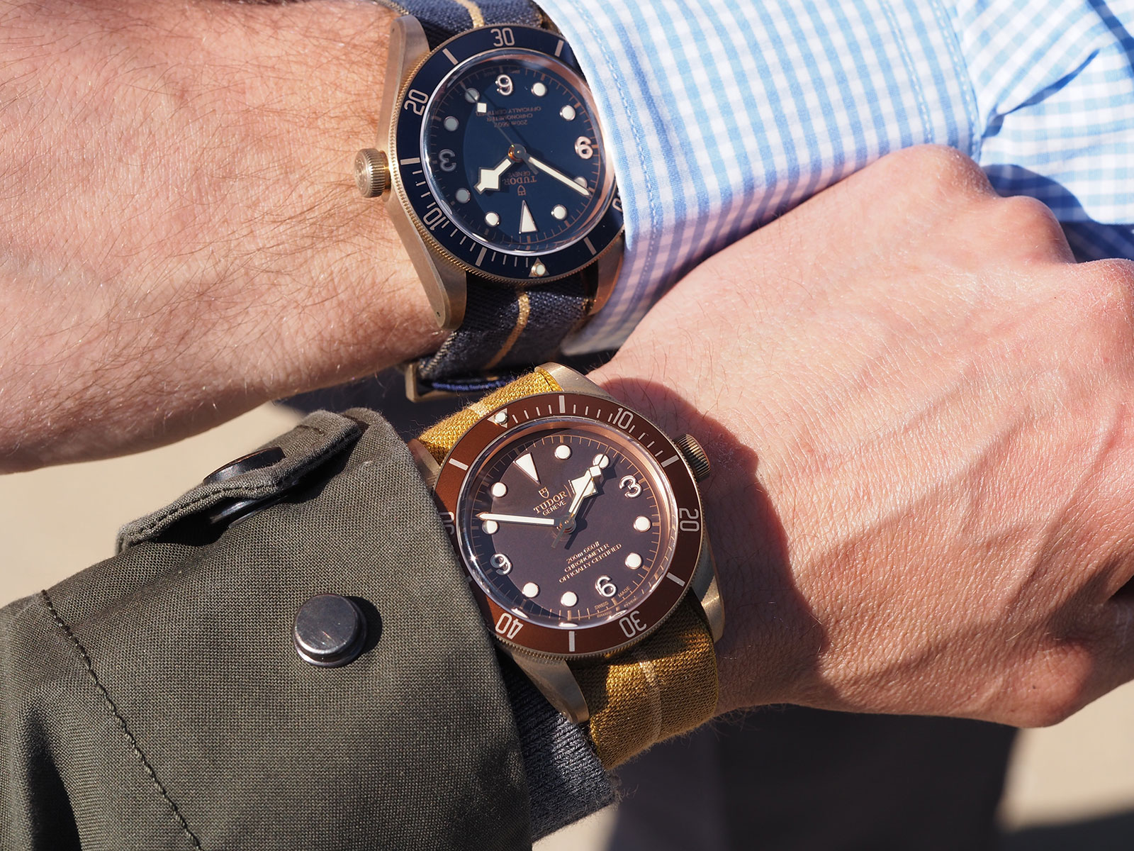 Tudor Black Bay Bronze Blue Bucherer 8