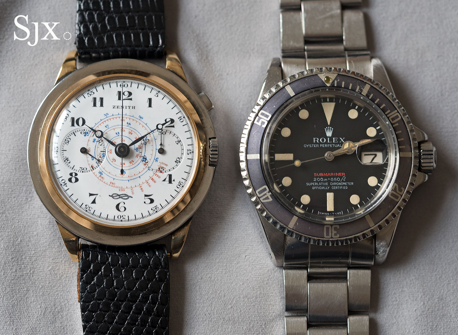 Zenith 4528 Marina Militare chronograph 1