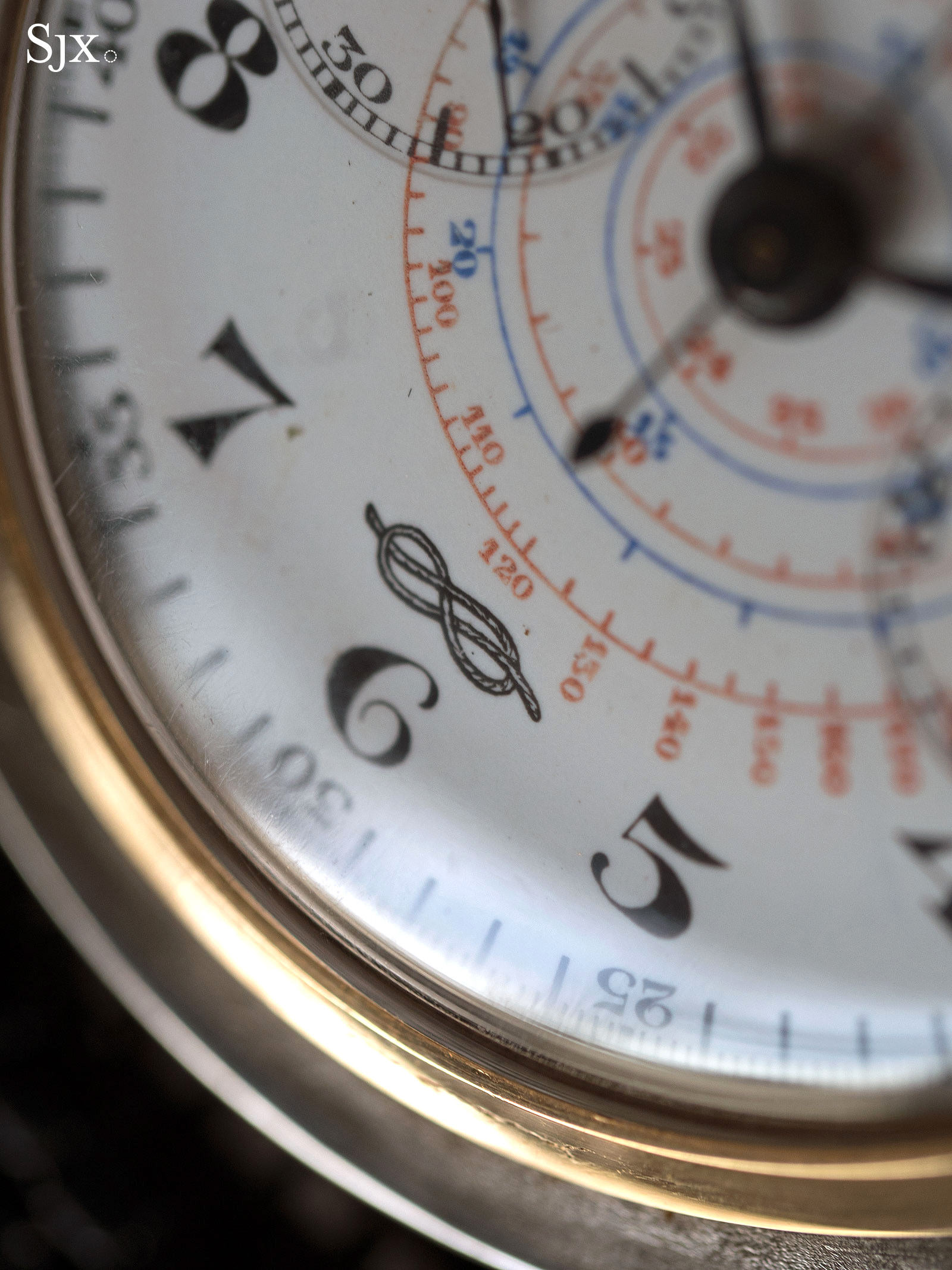 Zenith 4528 Marina Militare chronograph 4