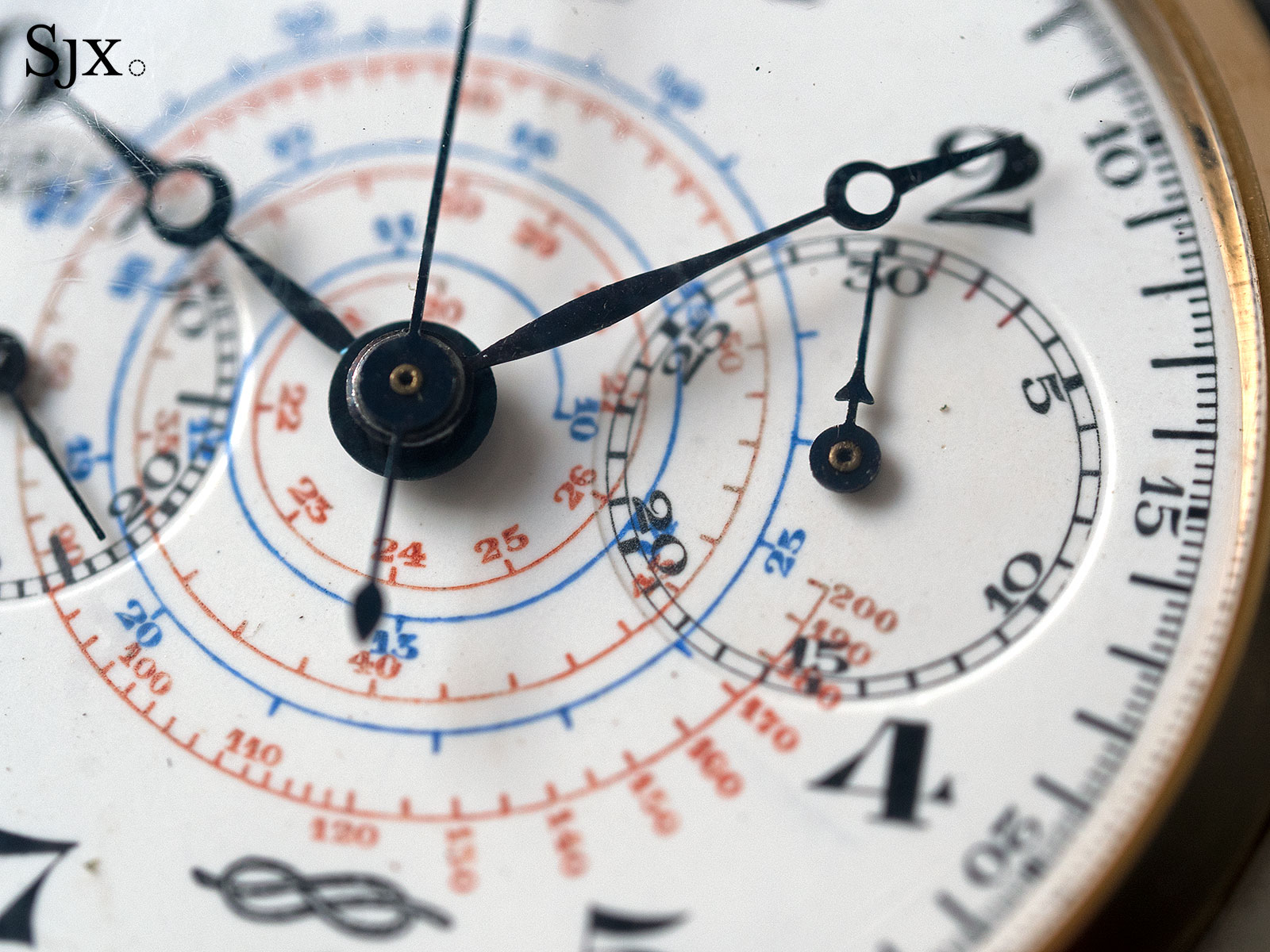 Zenith 4528 Marina Militare chronograph 5