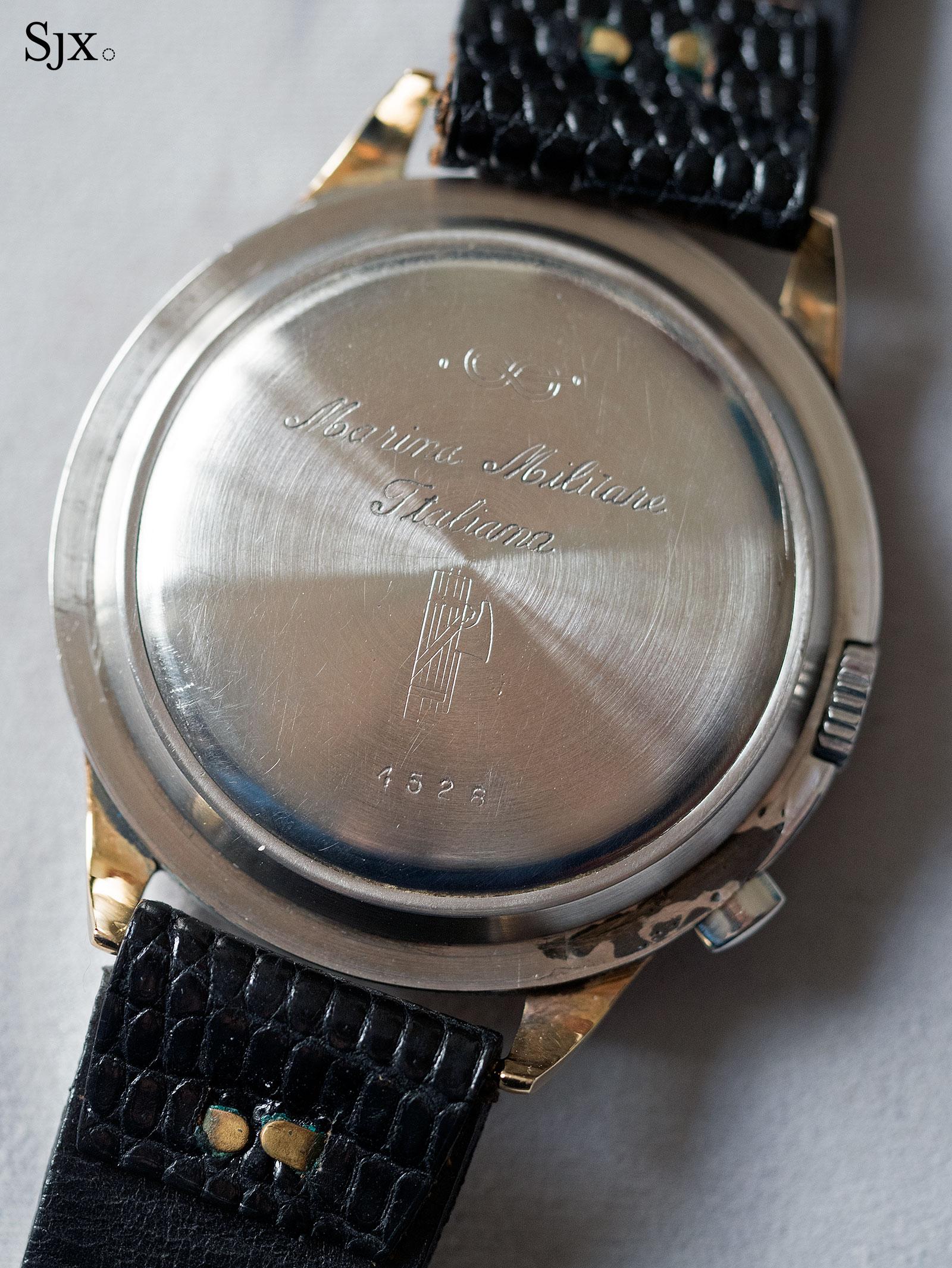 Zenith 4528 Marina Militare chronograph 6