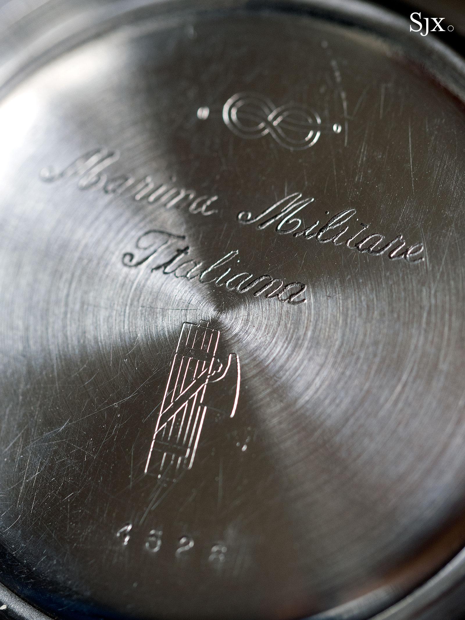 Zenith 4528 Marina Militare chronograph 7