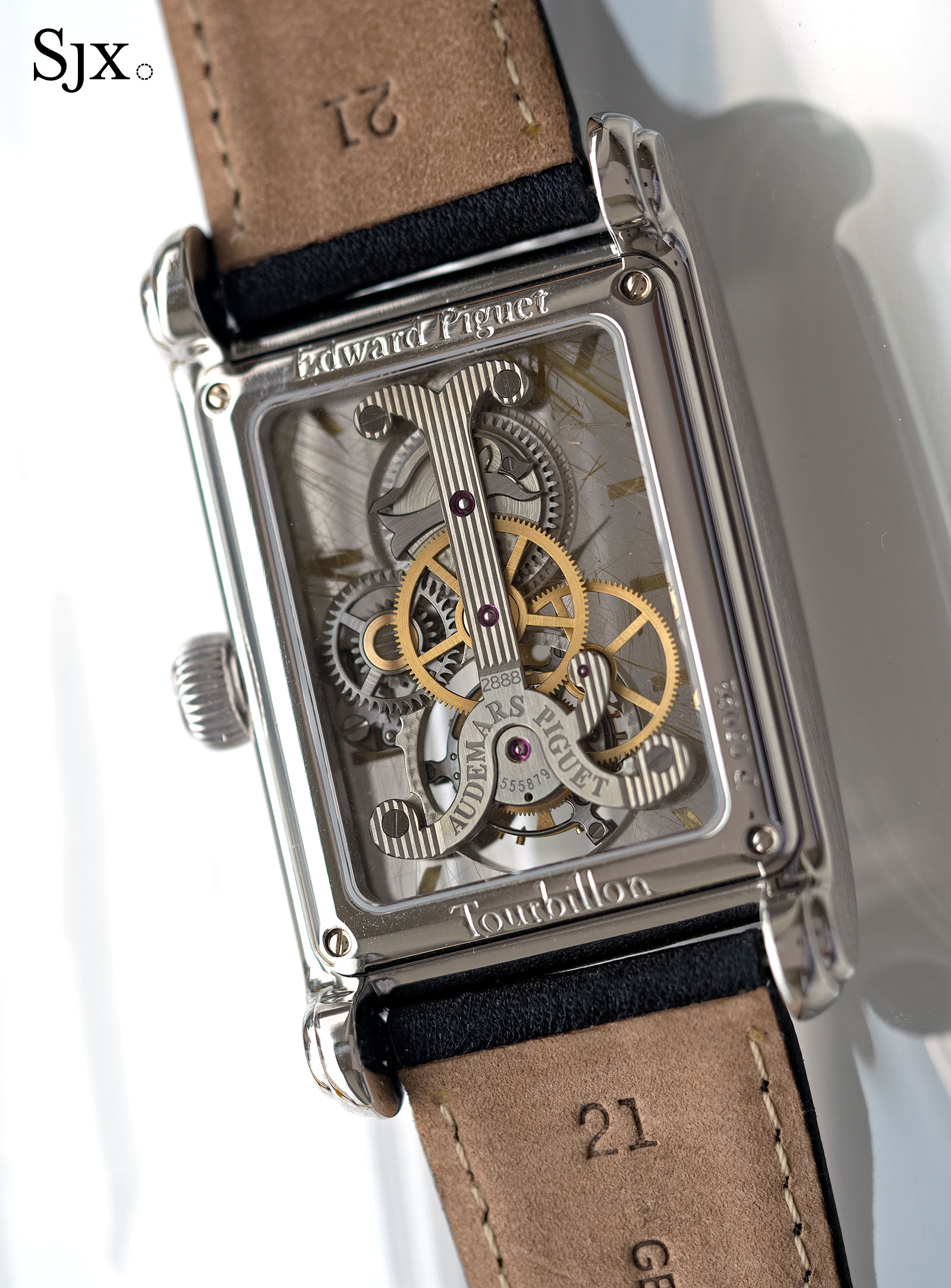 AP Edward Piguet Tourbillon Rutilated Quartz 5
