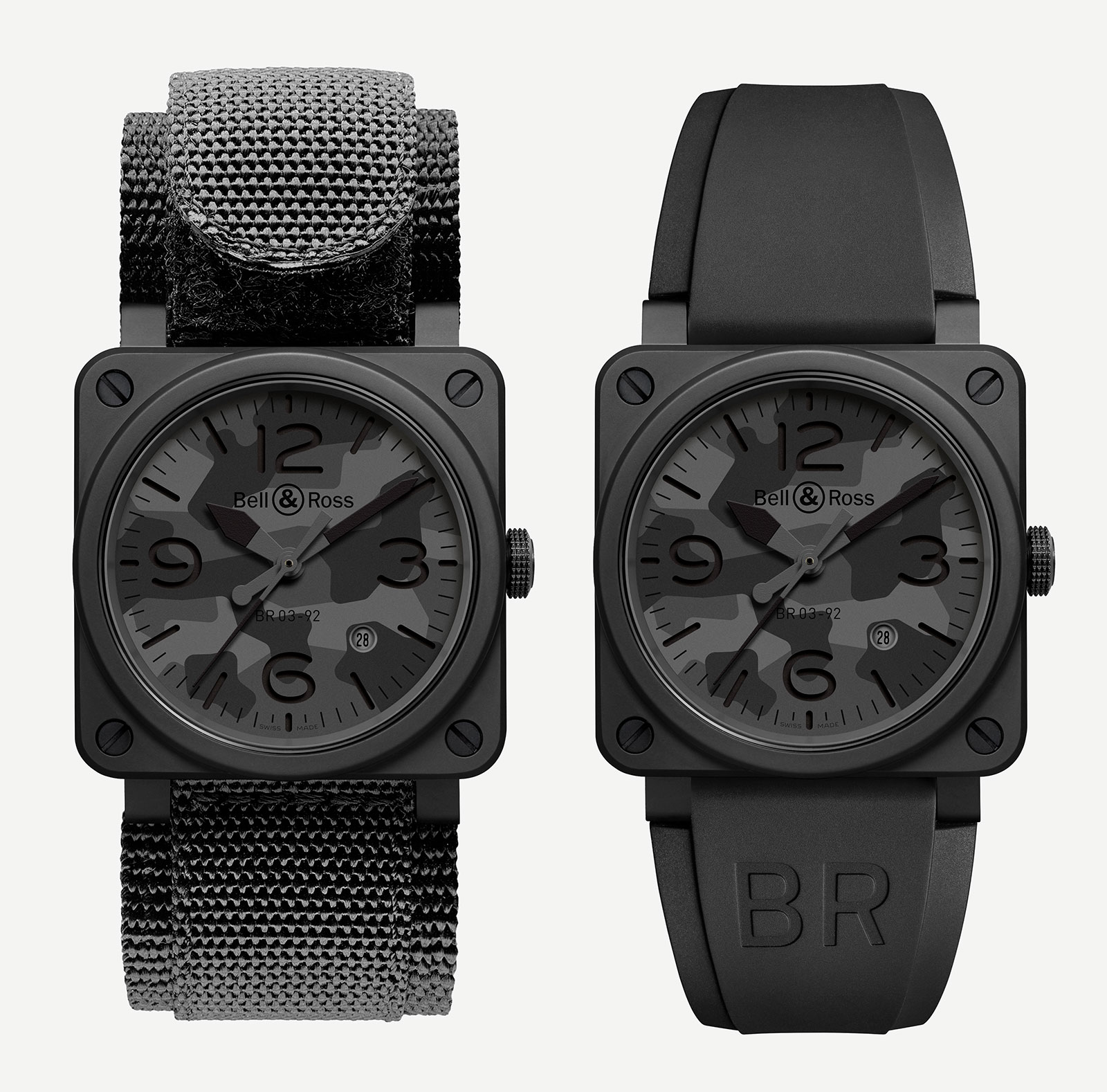 Introducing the Bell & Ross BR 03-92 Black Camo