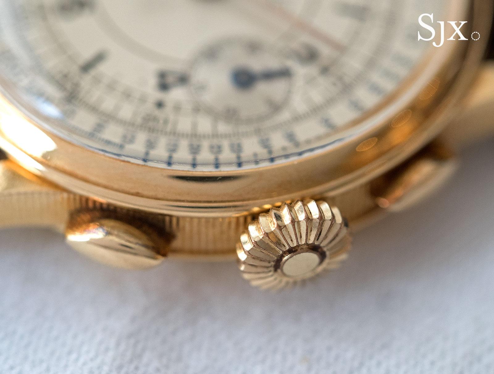 Breguet chronograph sector dial 2