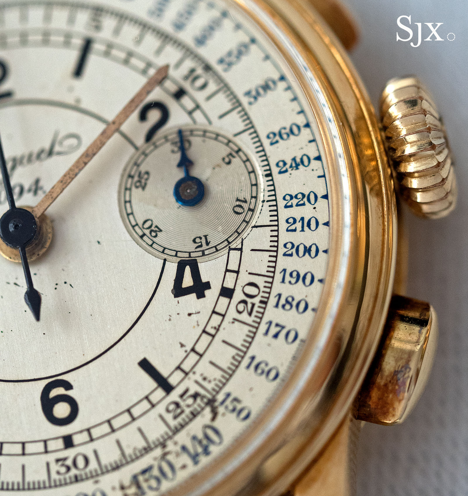 Breguet chronograph sector dial 4