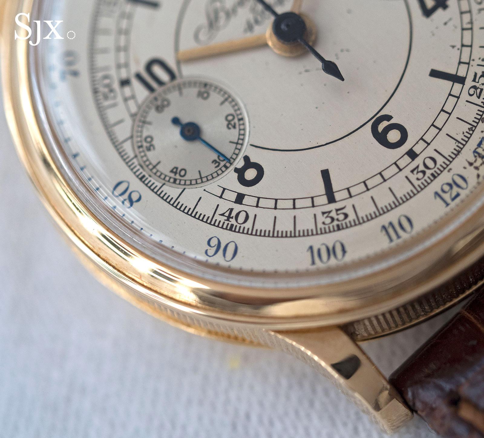 Breguet chronograph sector dial 5