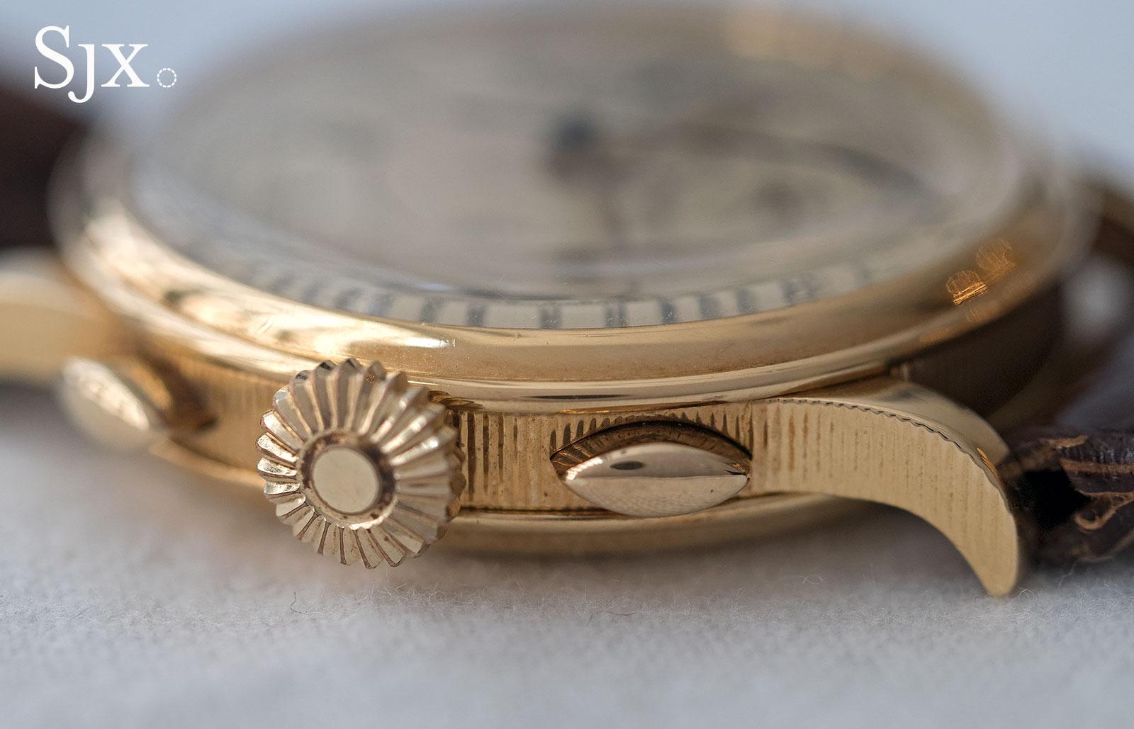 Breguet chronograph sector dial 7