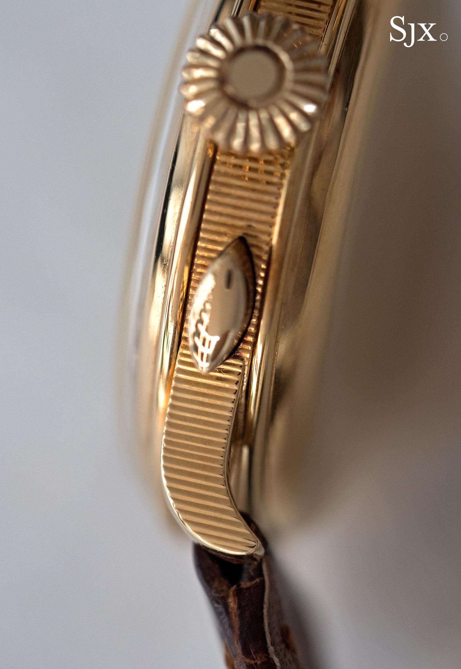 Breguet chronograph sector dial 8