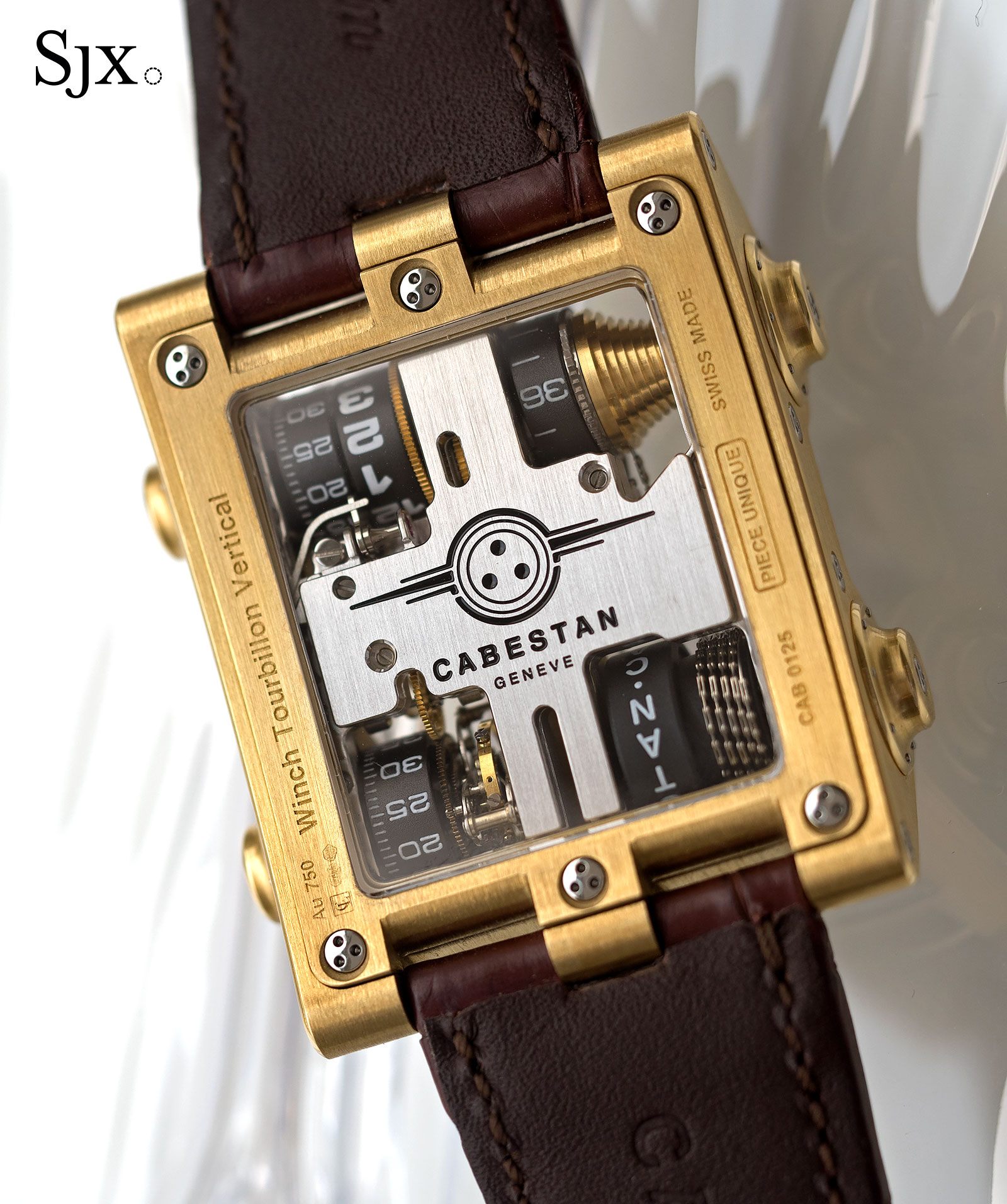 winch sjx tourbillon watches vertical cabestan