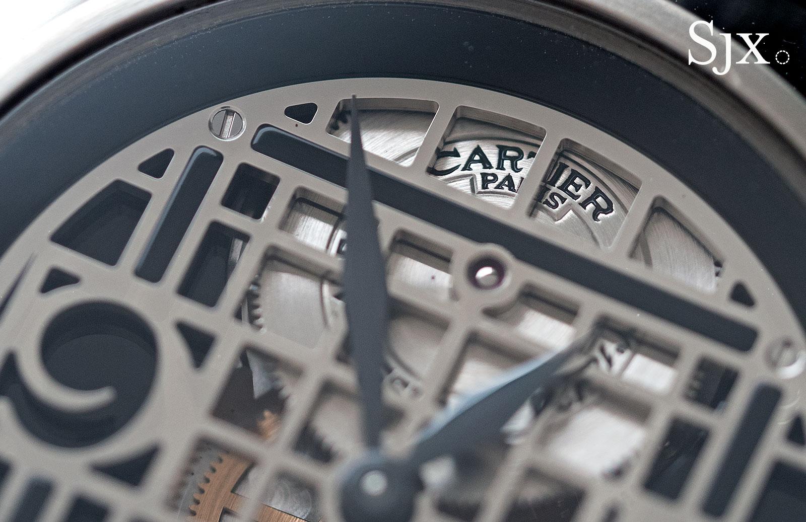 Cartier Pasha Tourbillon white gold 3