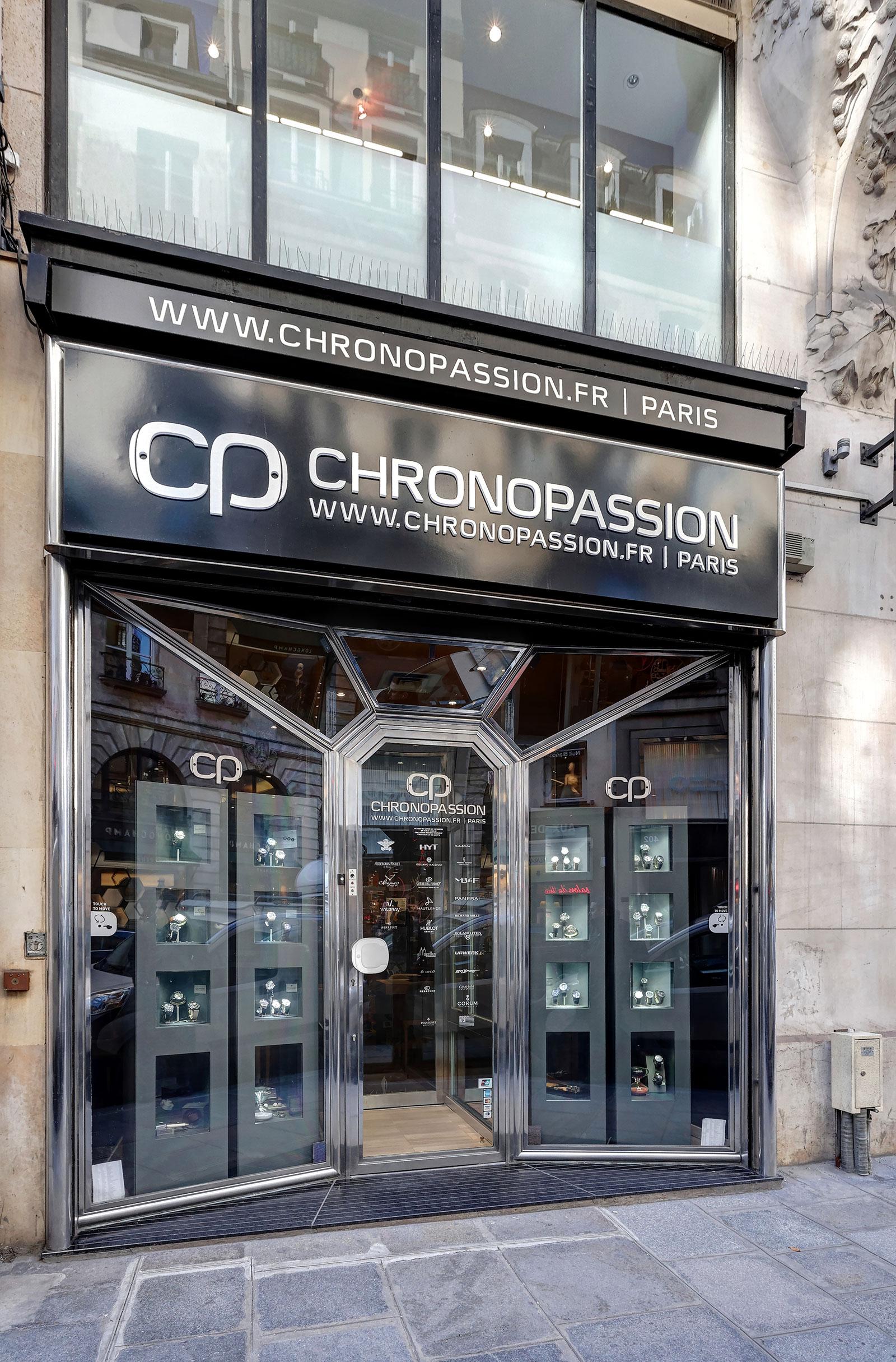 Chronopassion Paris Rue St Honore