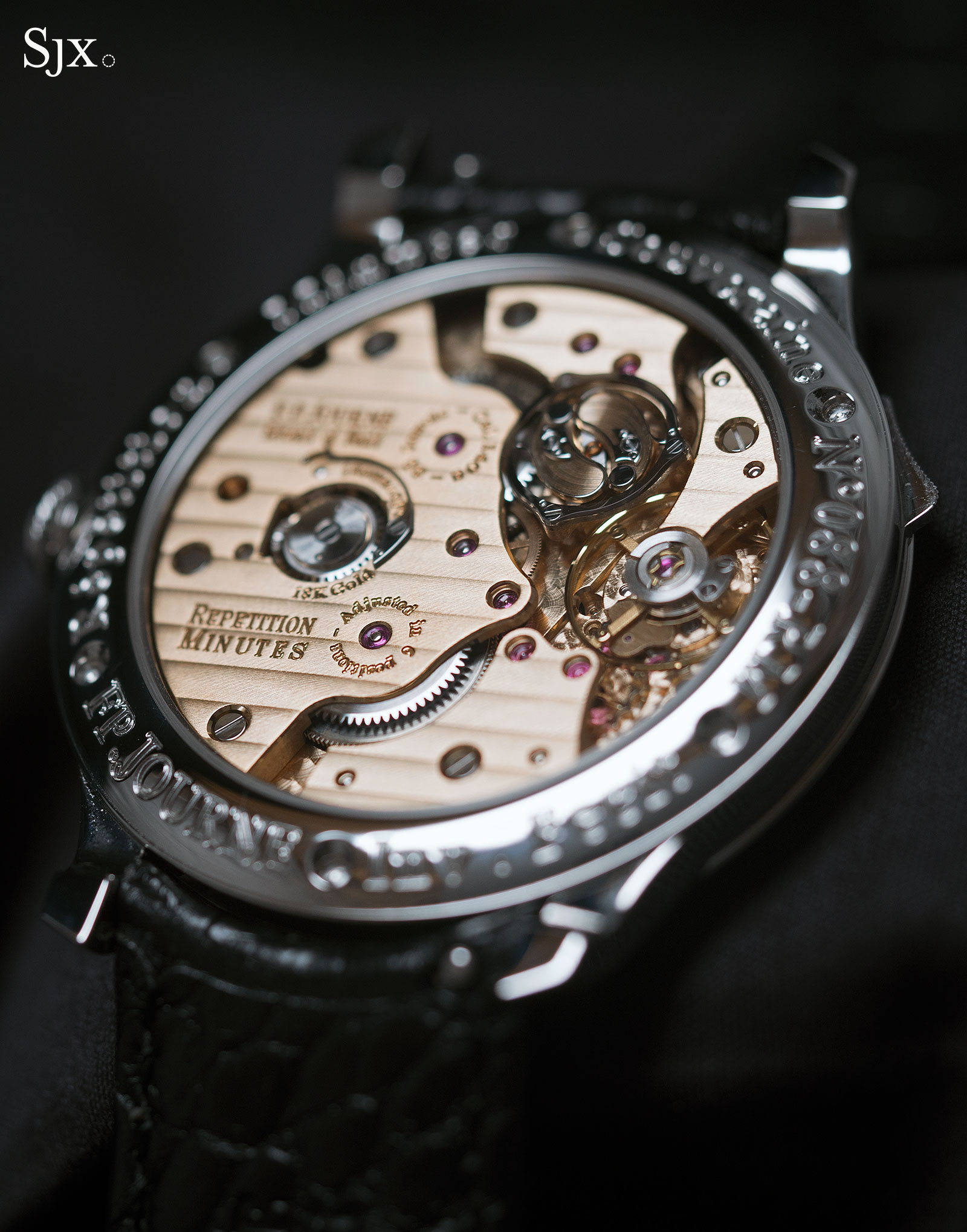 FP Journe Black Label Minute Repeater 6