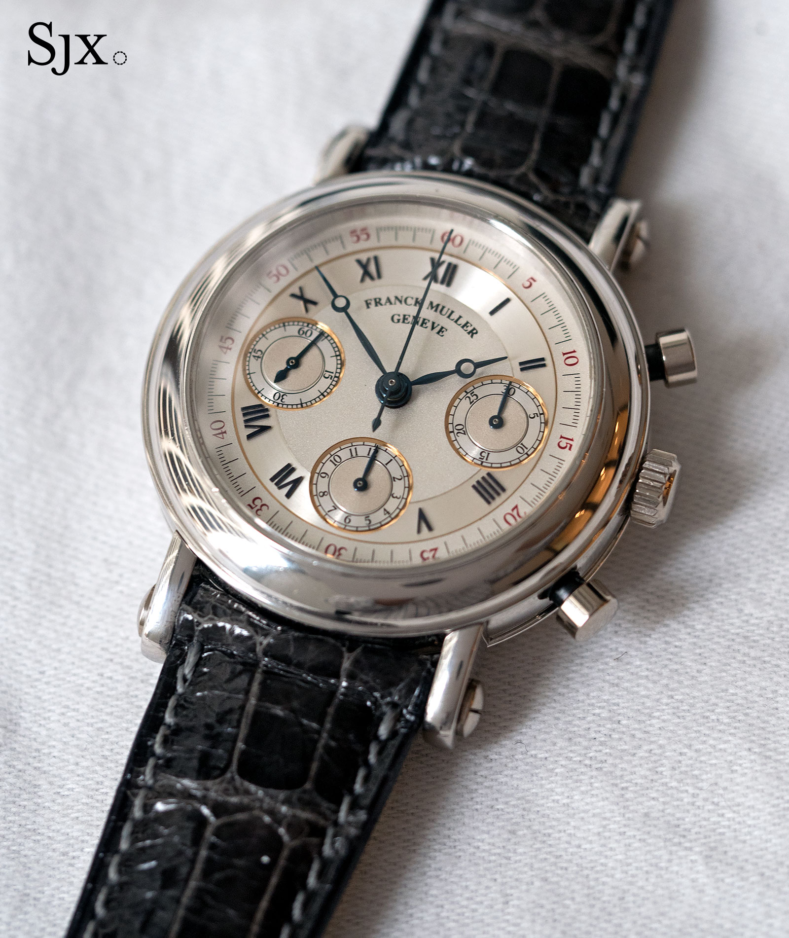 Franck Muller chronograph double face 1