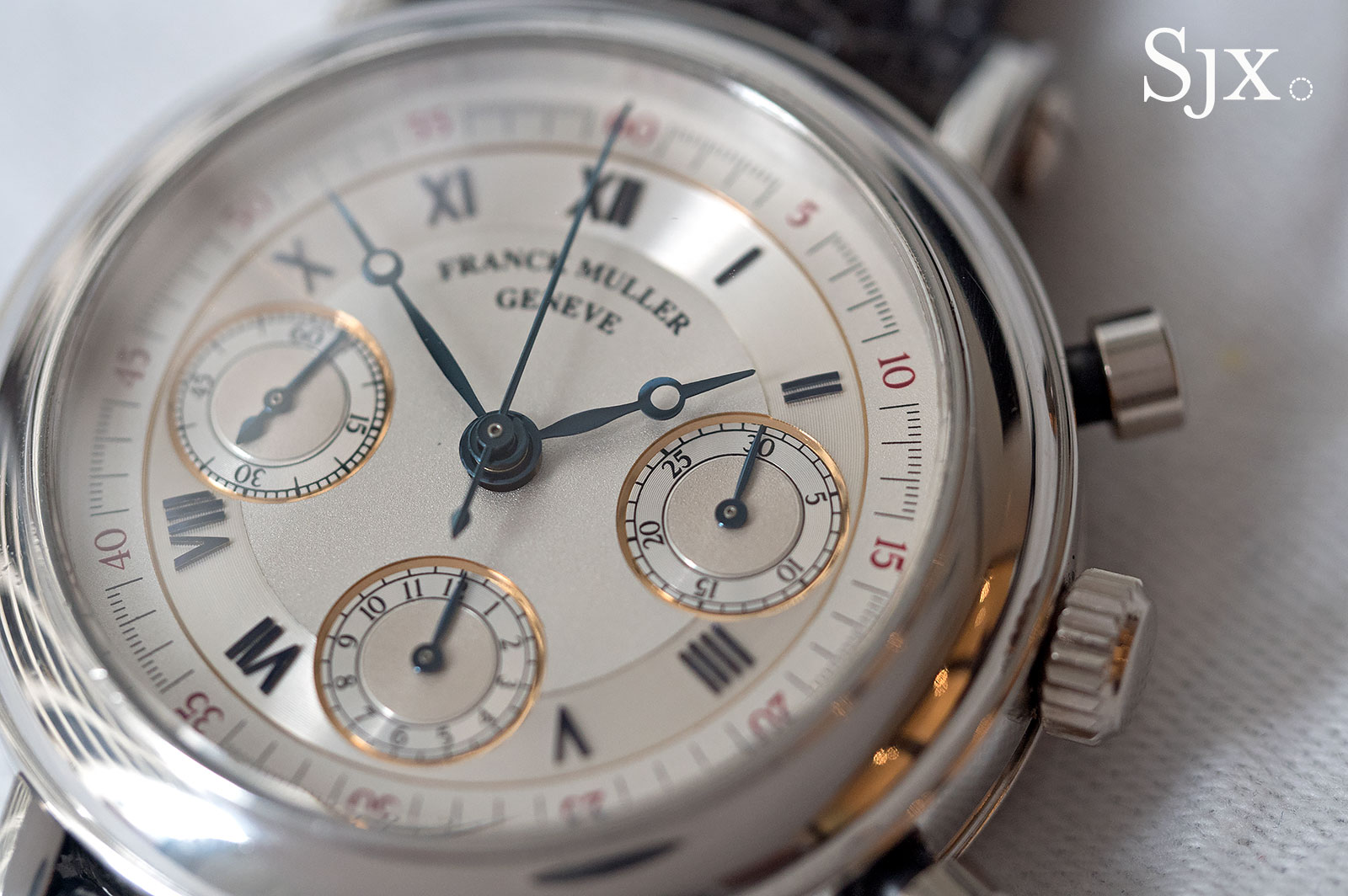 Franck Muller chronograph double face 2