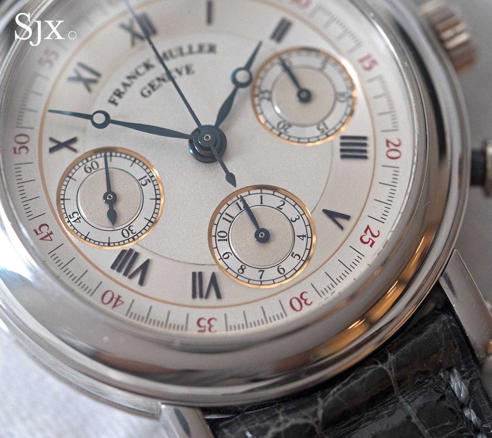 Franck Muller chronograph double face 4