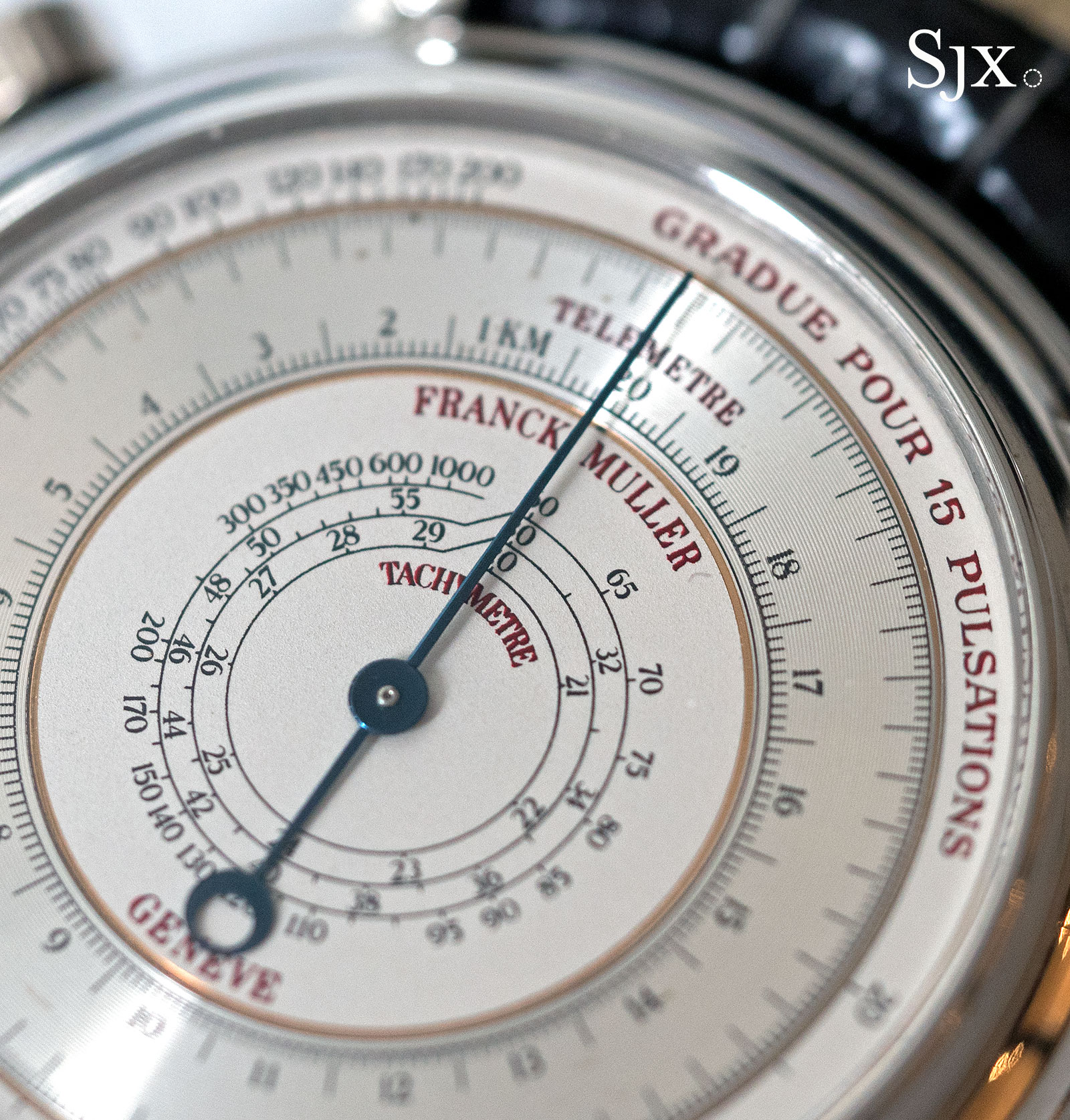 Franck Muller chronograph double face 7