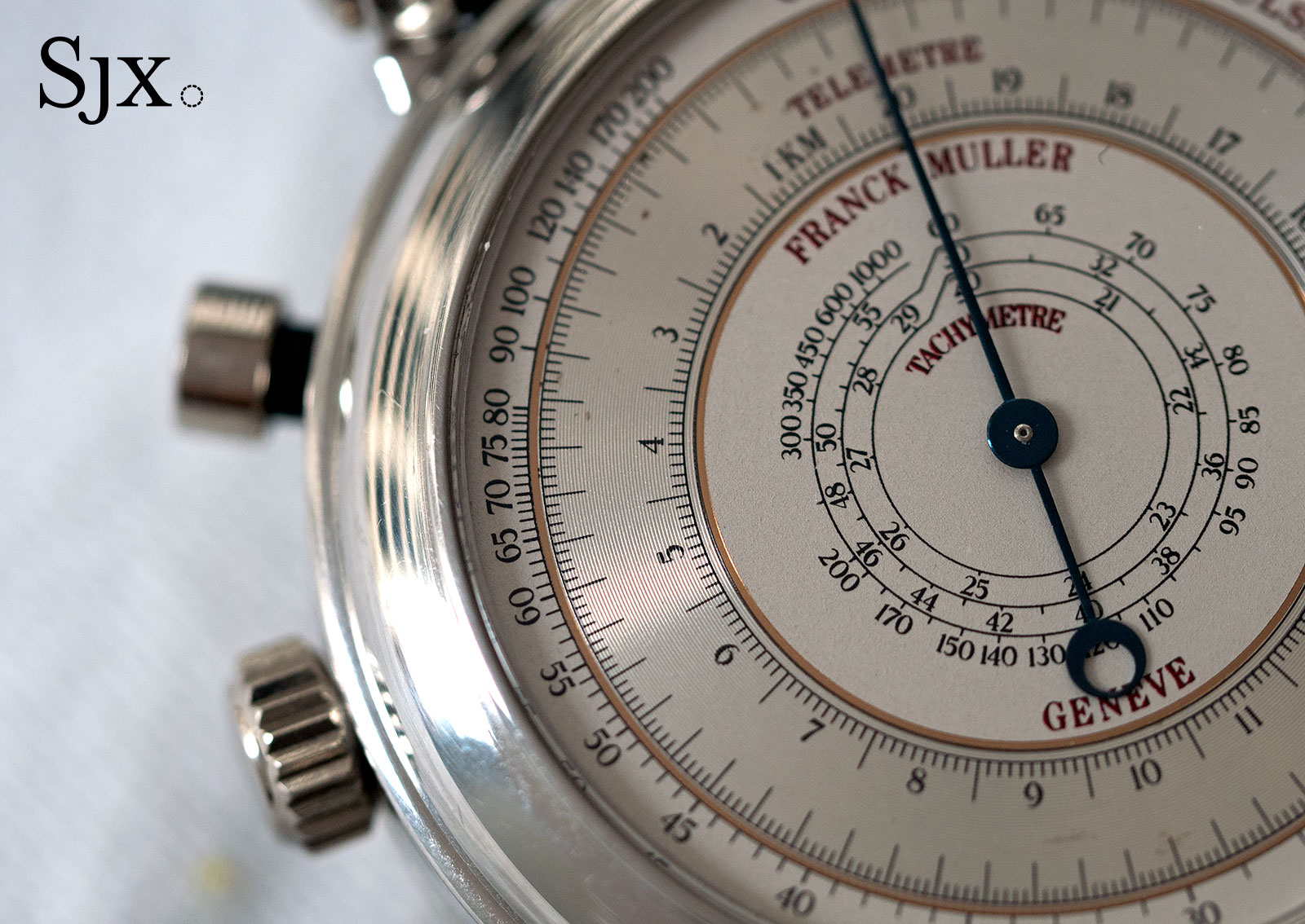 Franck Muller chronograph double face 8