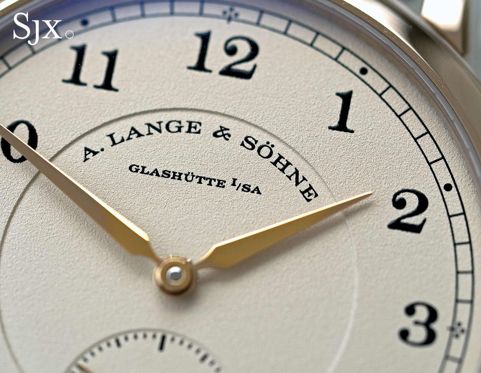 Lange 1815 honey gold 3