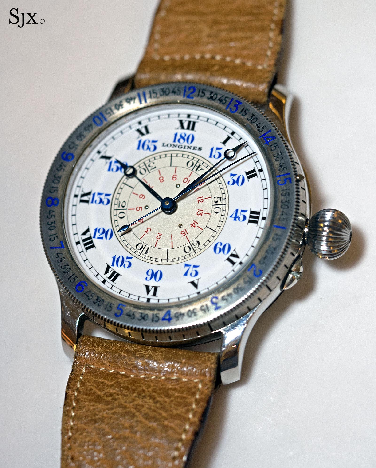 Longines Lindbergh Hour Angle vintage 1