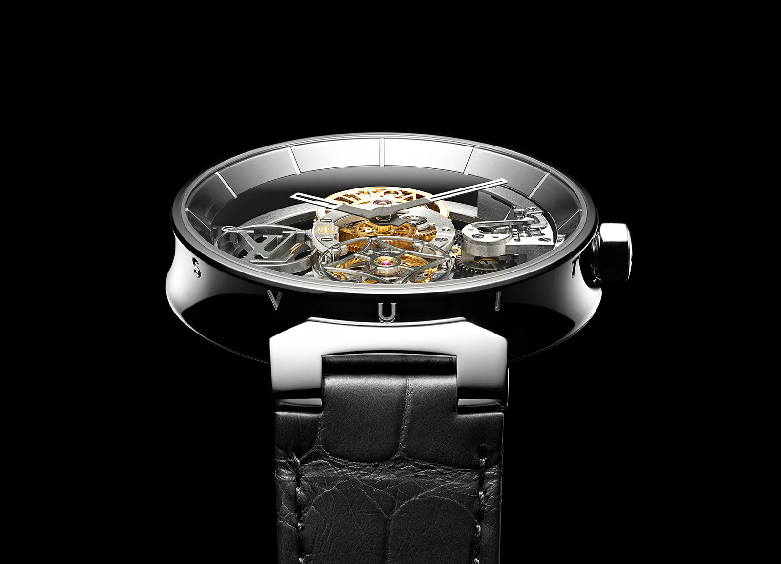 neue uhr louis vuitton tambour moon flying tourbillon poin on de gen ve uhrforum. Black Bedroom Furniture Sets. Home Design Ideas