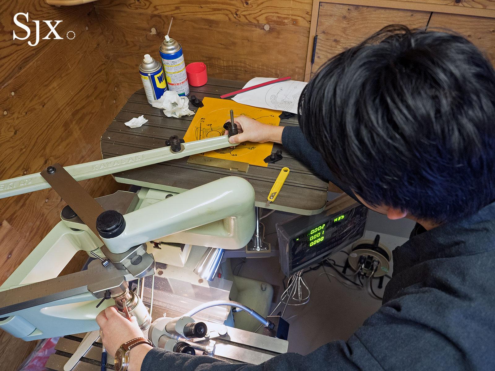 Masahiro Kikuno Japanese watchmaker 19