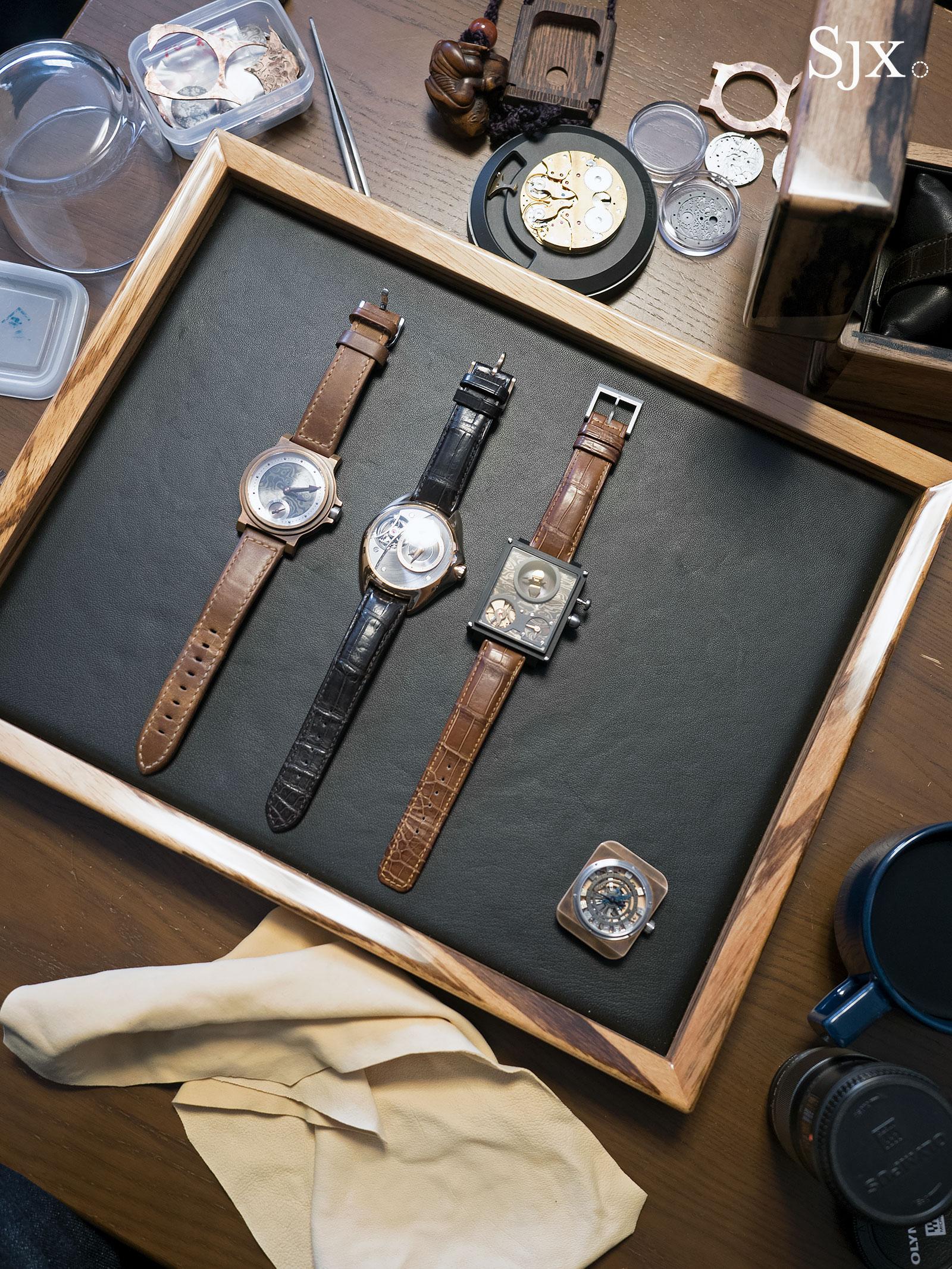 Masahiro Kikuno Japanese watchmaker 4