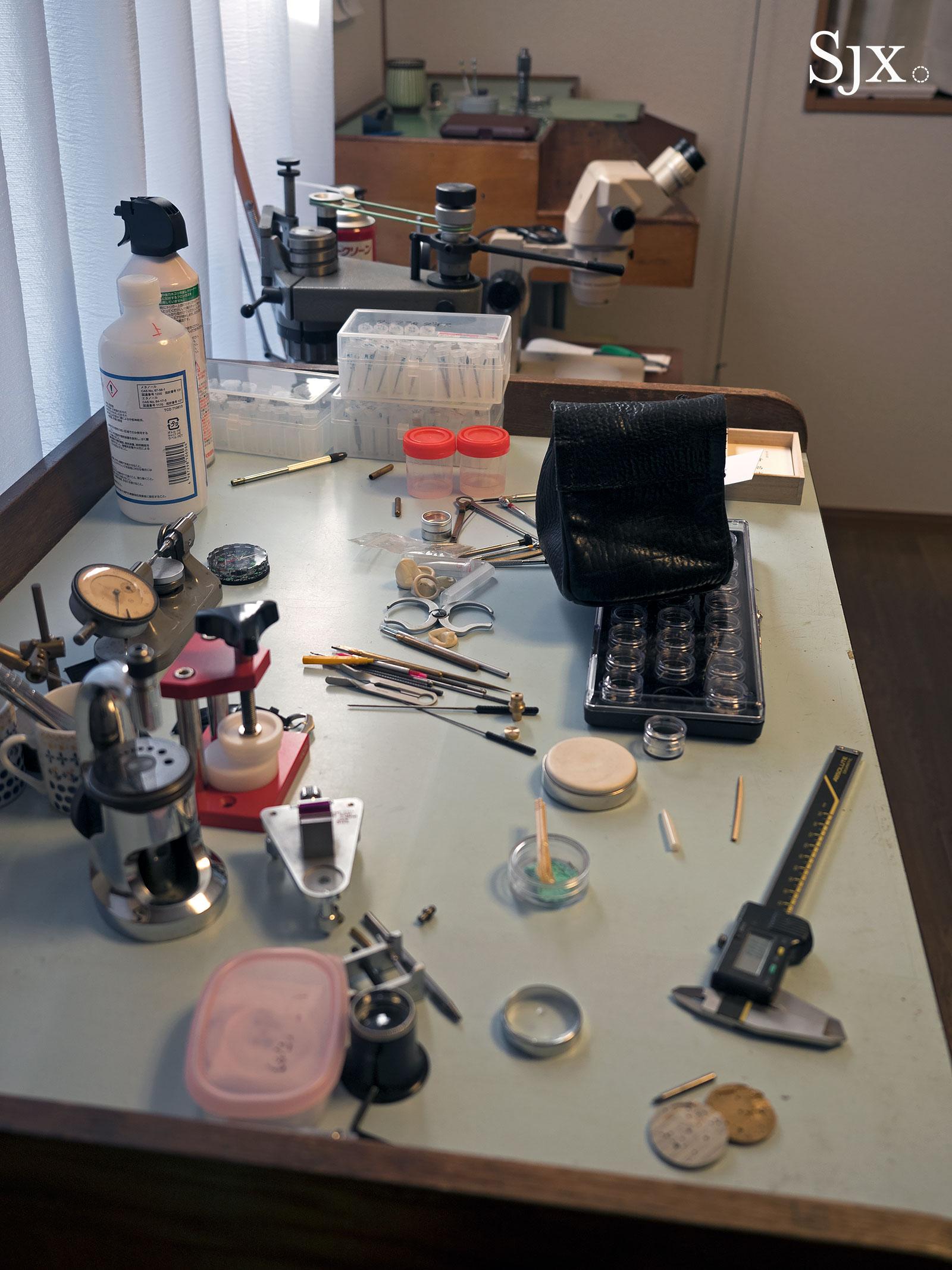 Masahiro Kikuno Japanese watchmaker 5