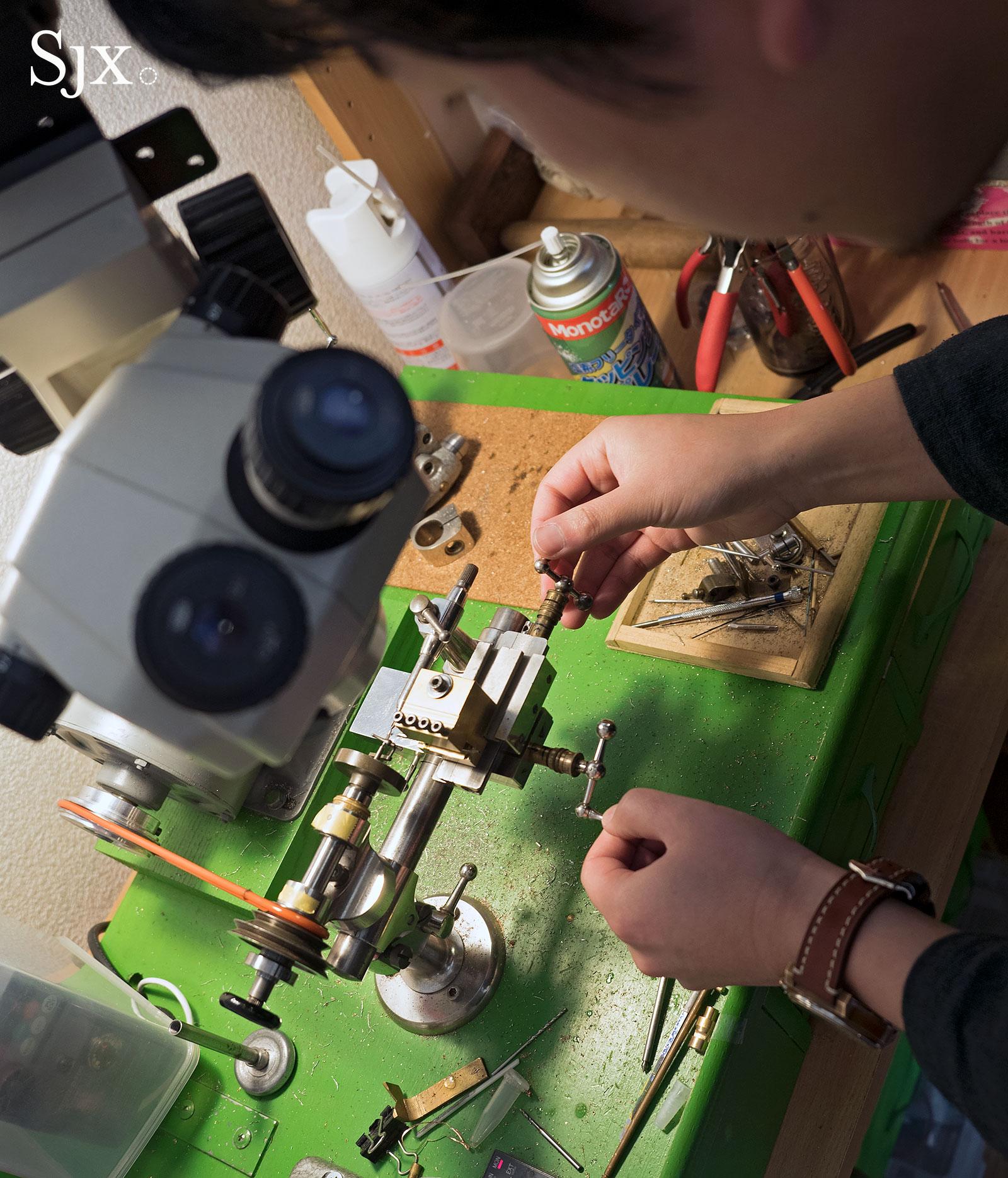Masahiro Kikuno Japanese watchmaker 8