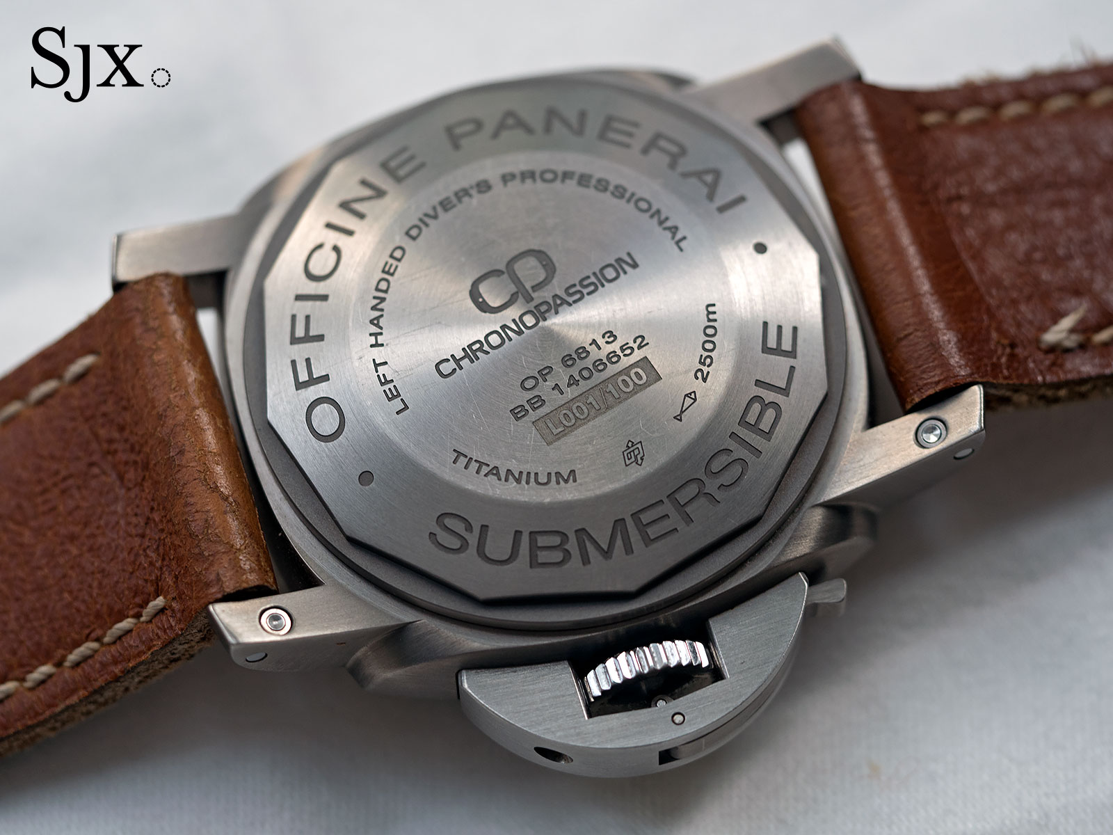 Panerai Submersible 2500 Destro Chronopassion PAM358-5