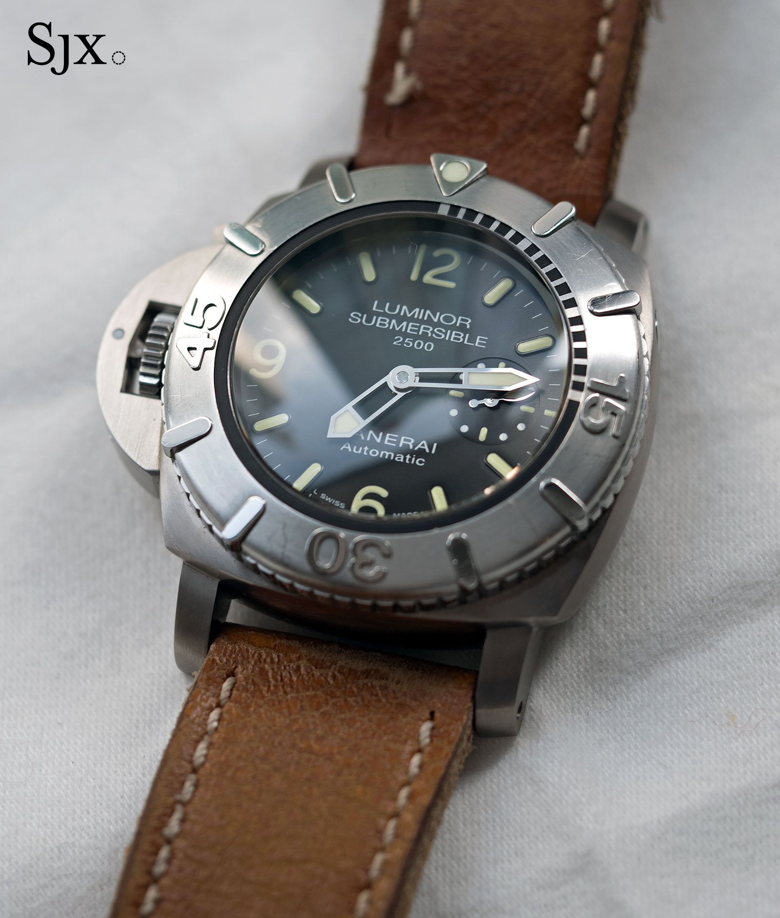 Panerai Submersible 2500 Destro Chronopassion PAM358-6
