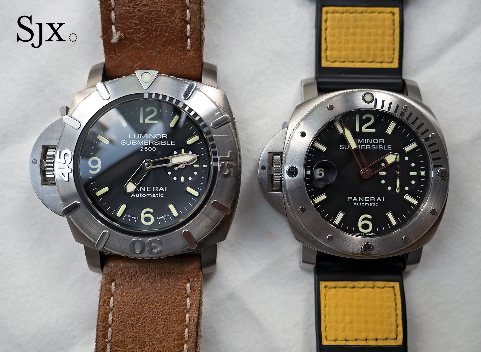 Panerai Submersible 2500 Destro Chronopassion PAM358-7