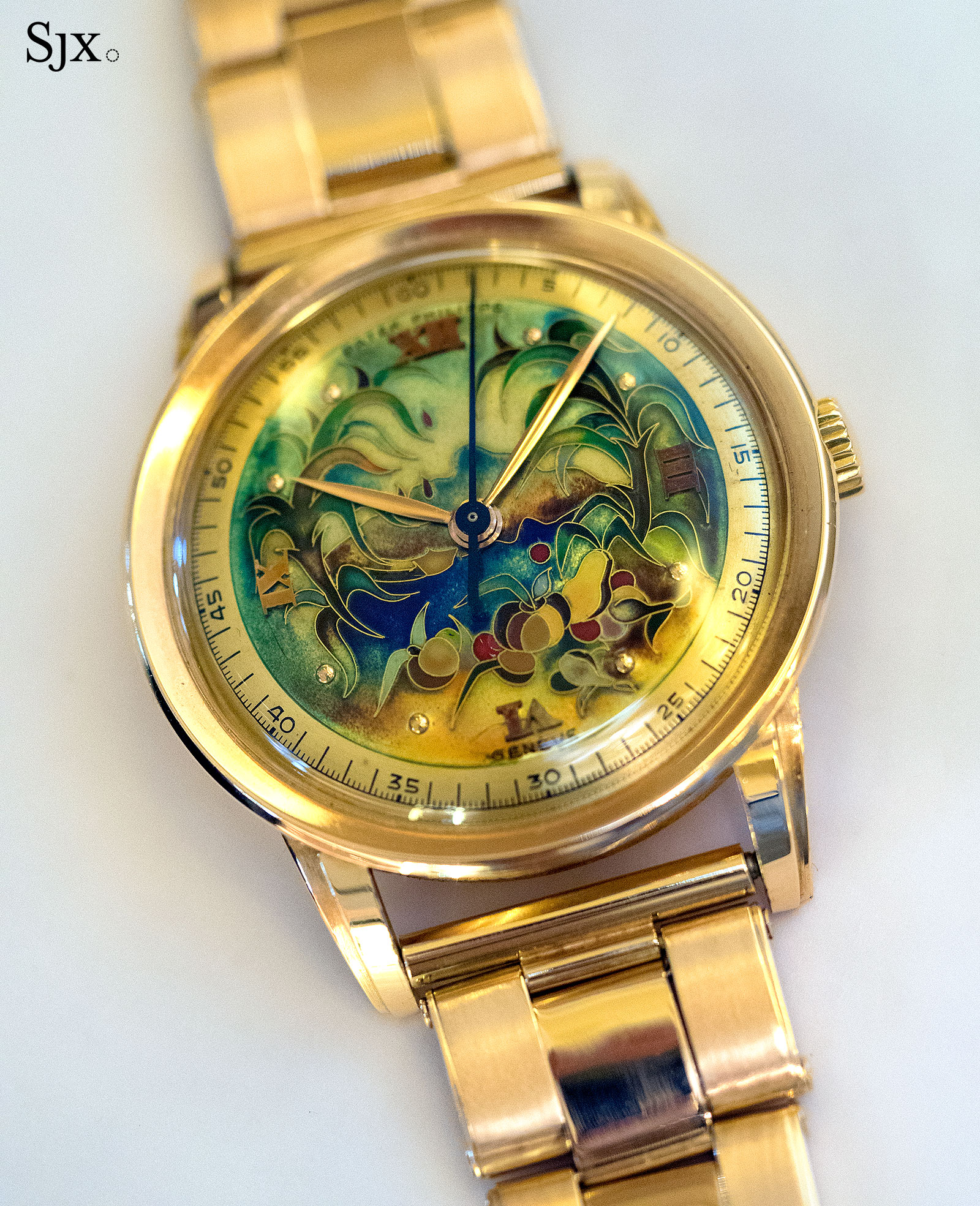 Patek Philippe 2481 cloisonne virgin forest 2
