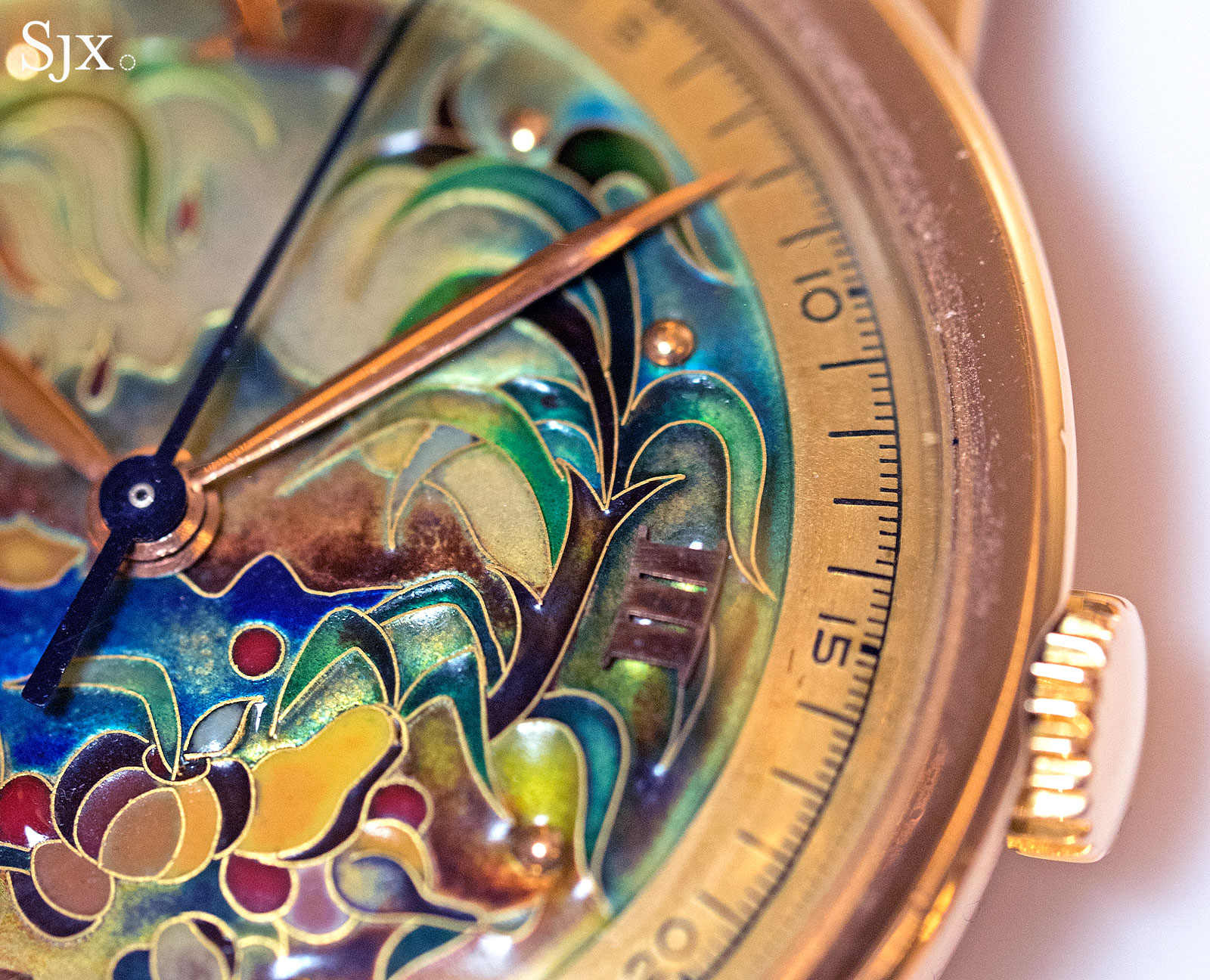 Patek Philippe 2481 cloisonne virgin forest 4