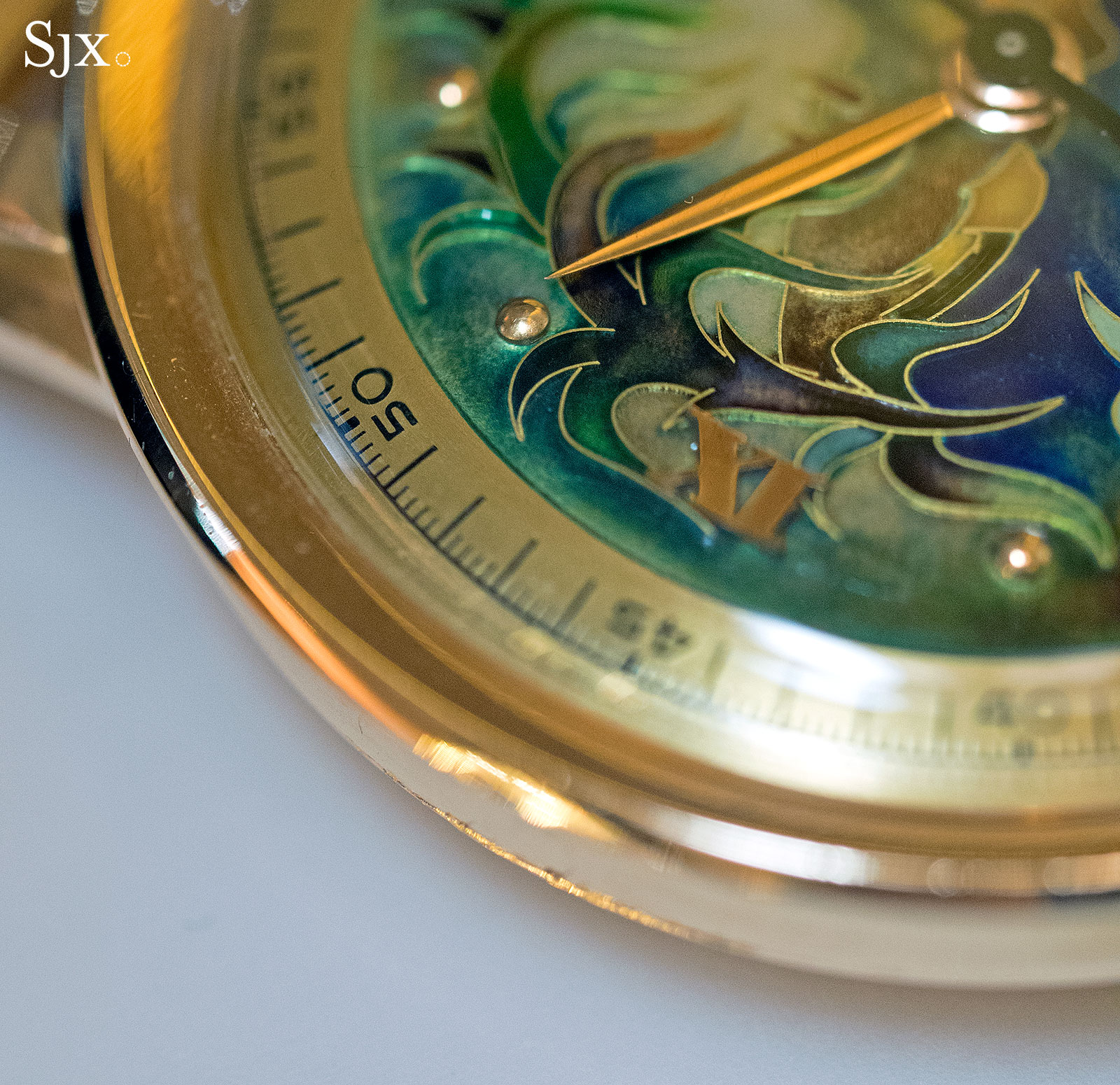 Patek Philippe 2481 cloisonne virgin forest 6