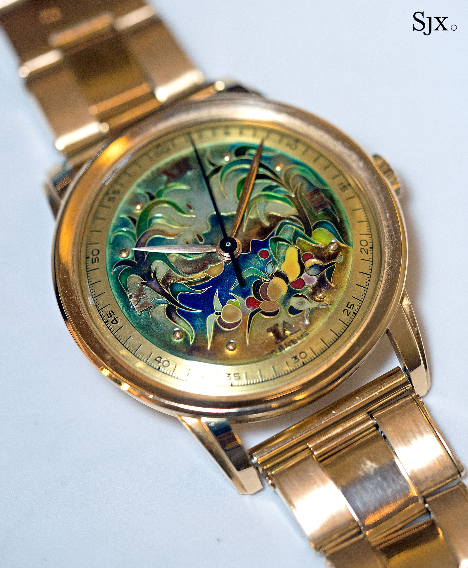 Patek Philippe 2481 cloisonne virgin forest 7